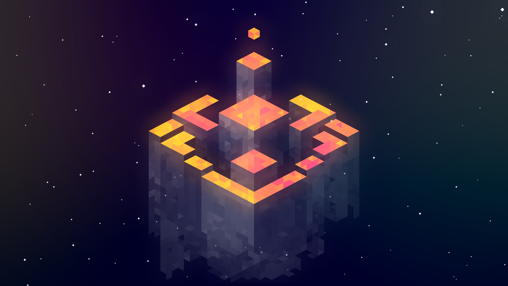 Mario 3d Wallpaper Abstract Fez Isometric Wallpapers Hd Desktop And