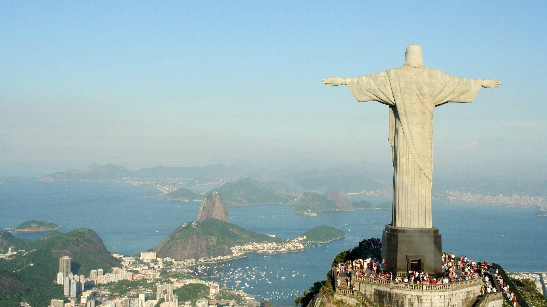 Jesus 3d Wallpapers For Mobile Rio De Janeiro Brasil Statue Christ The Redeemer