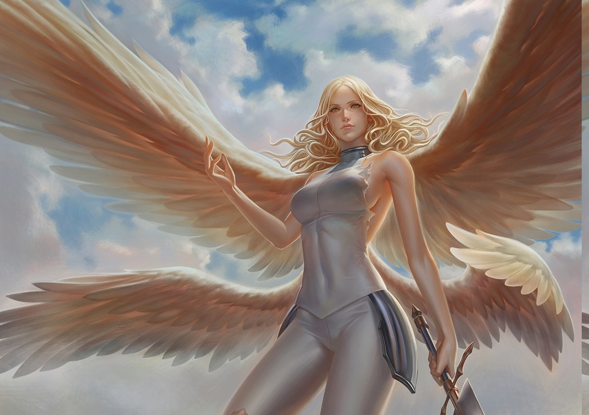 Claymore Wallpaper Hd Teresa Digital Art Claymore Anime Wings Sword