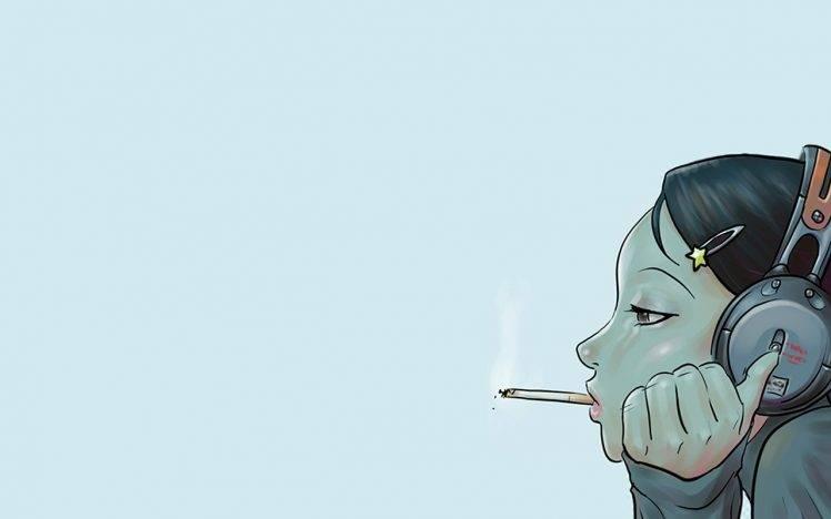 Smoking Girl Hd Wallpaper For Mobile Smoking Anime Girls Wallpapers Hd Desktop And Mobile