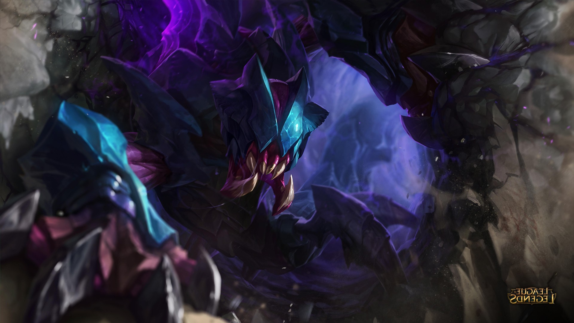 3d Lol Wallpaper League Of Legends Rek Sai Wallpapers Hd Desktop And