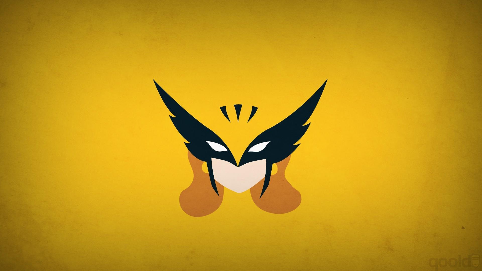 3d Cartoon Girl Wallpapers Hawkgirl Blo0p Superhero Minimalism Dc Comics X Men