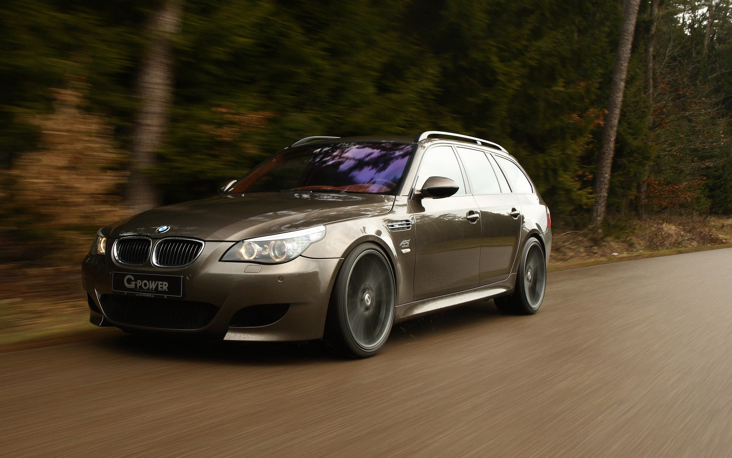 Wallpaper 3840x1080 Car Bmw E61 Wallpapers Hd Desktop And Mobile Backgrounds
