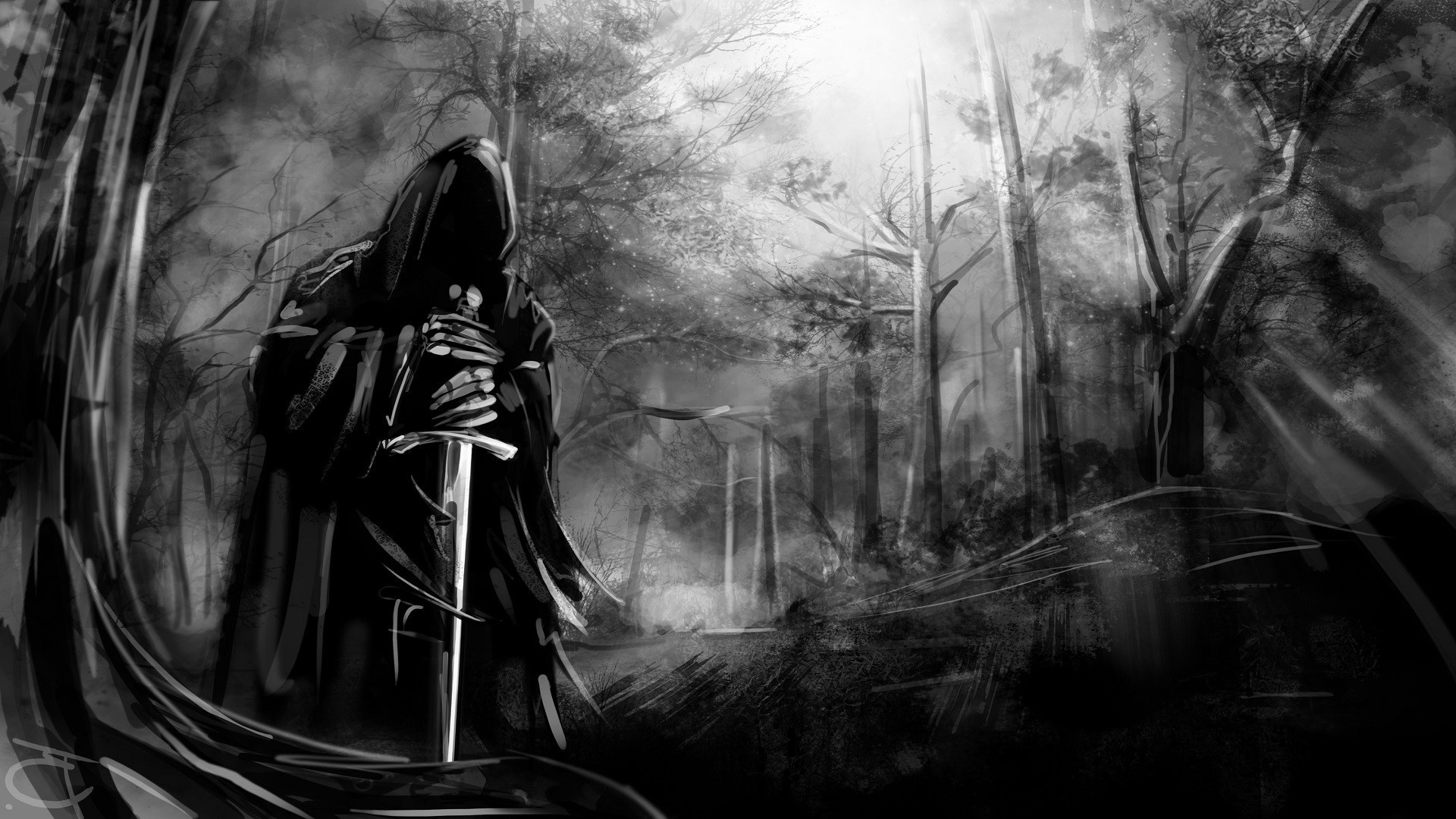 Ghost 3d Wallpaper Download The Lord Of The Rings Nazg 251 L Sword Wallpapers Hd