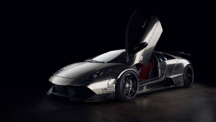 Super Car 5760x1080 Wallpaper Lamborghini Murcielago Chrome Car Hi Tech Wallpapers Hd