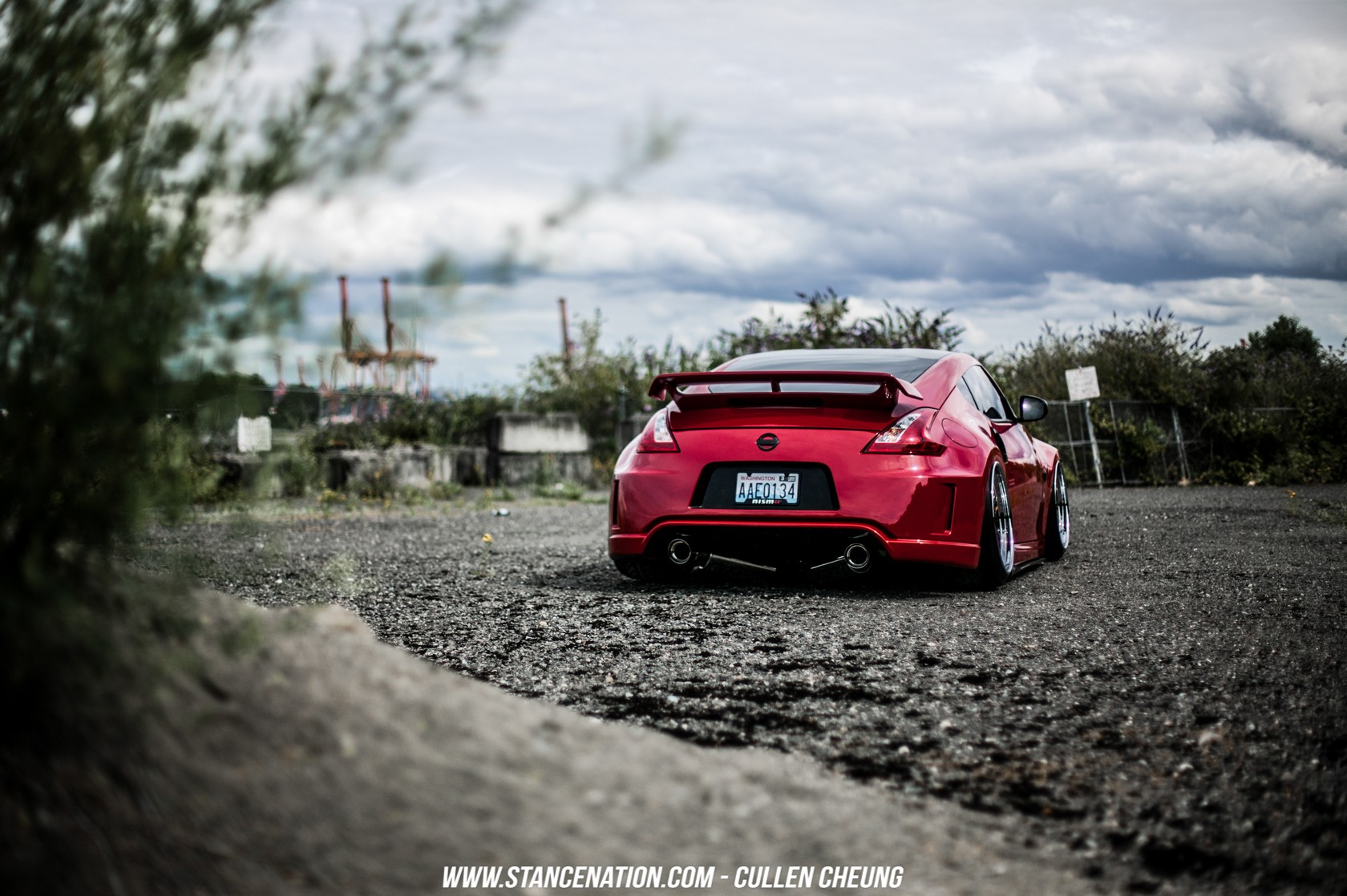 Car 5760x1080 Wallpaper Nissan Nissan 350z Stance Stanceworks Stancenation