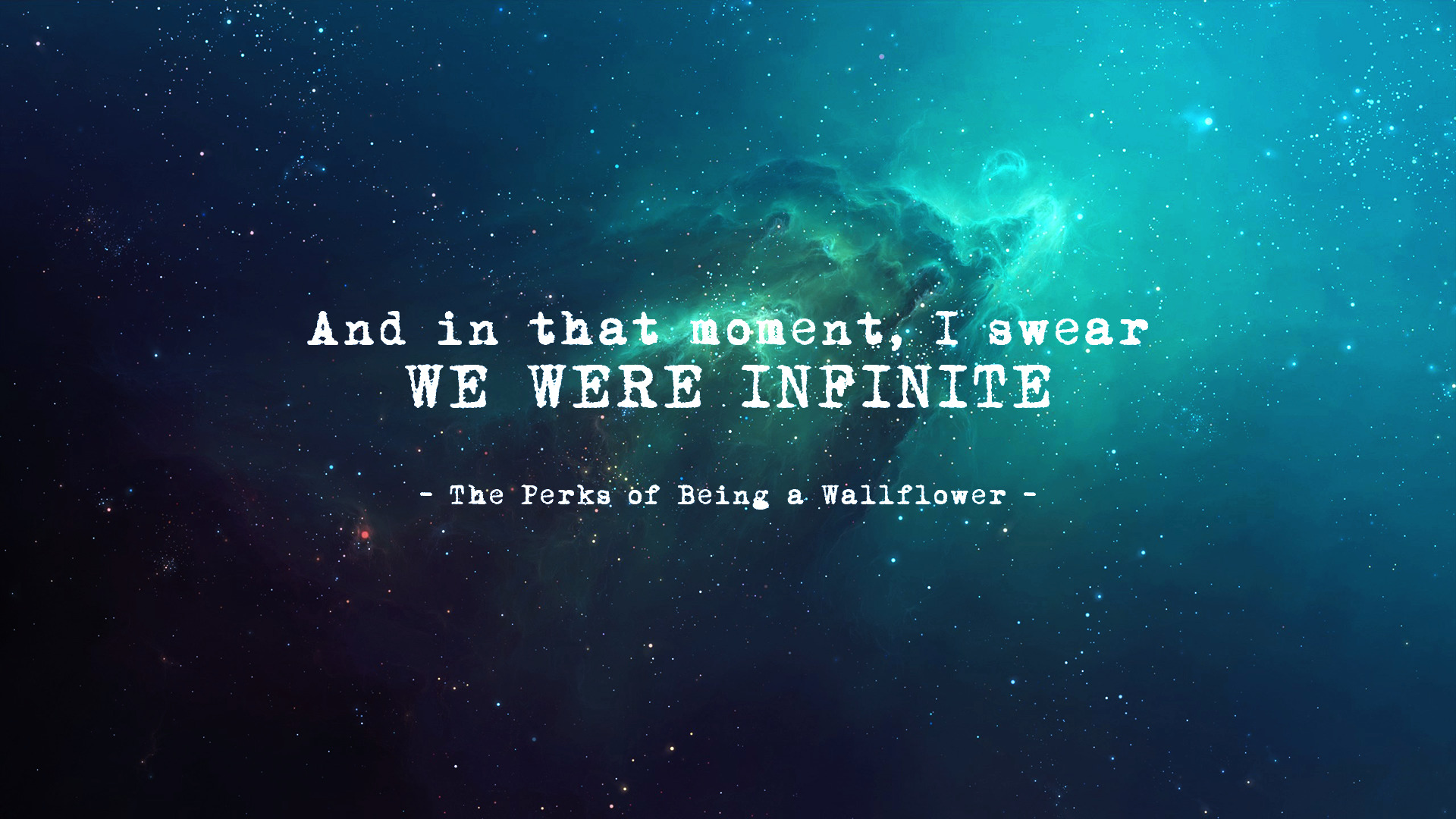 Jesus Wallpapers And Quotes The Perks Of Being A Wallflower Universe Quote Novels