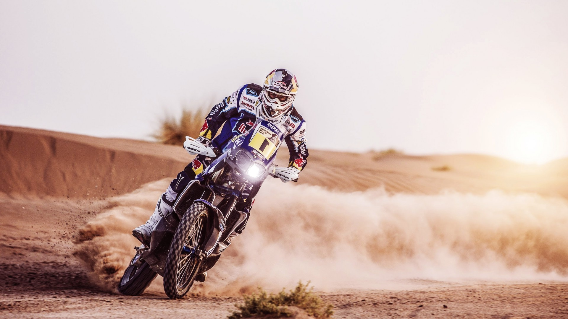 Dirt Bike Wallpaper Girls Motocross Desert Landscape Dakar Wallpapers Hd