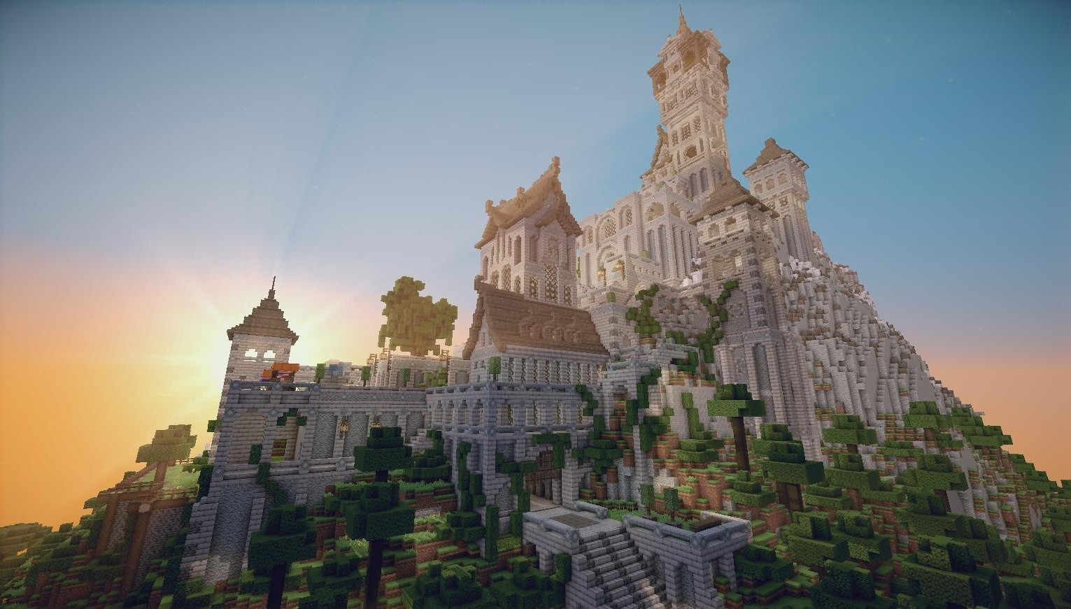 Epic Animal Wallpapers Minecraft Castle Screenshots Video Games Wallpapers Hd