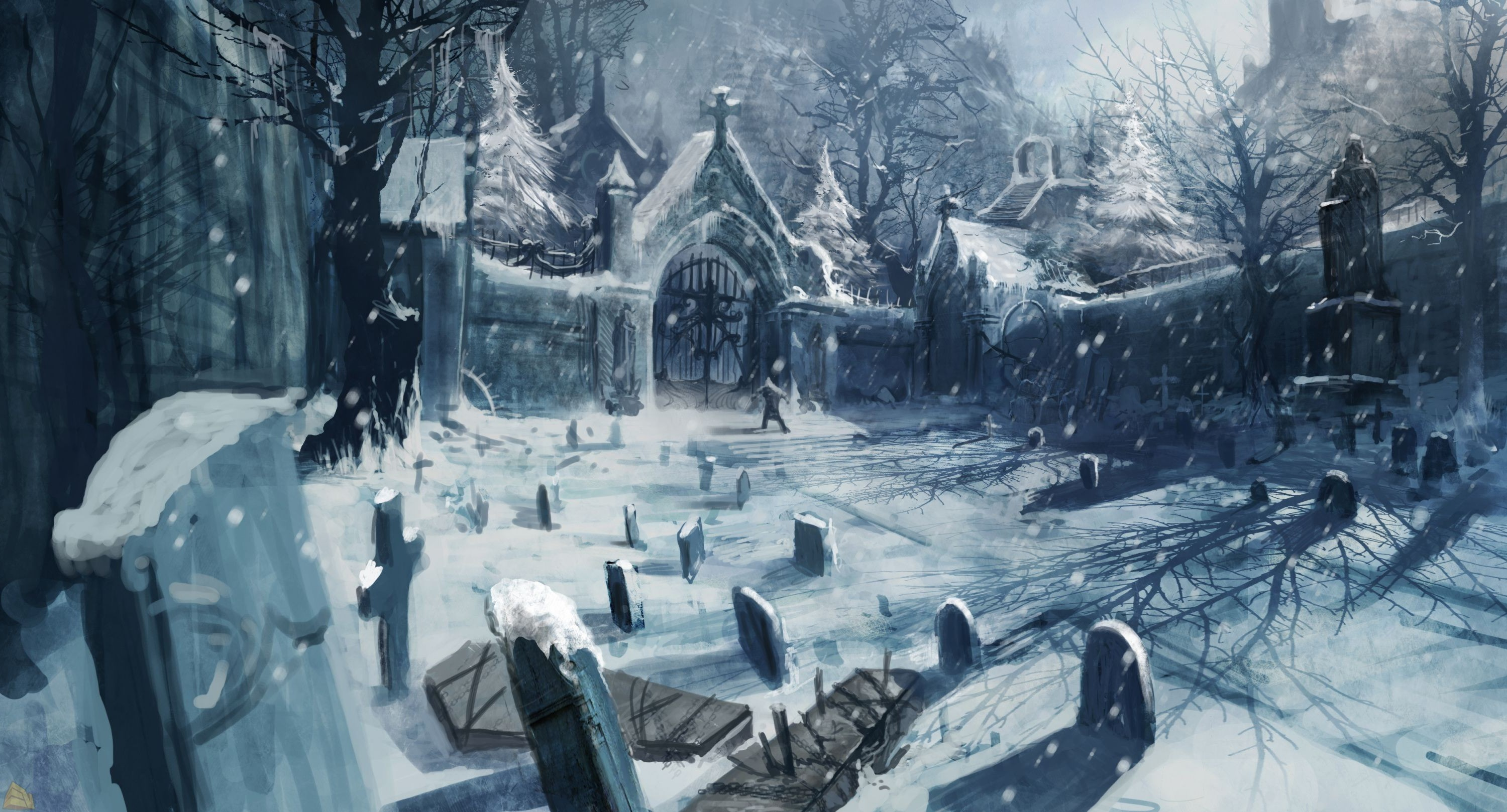 3d Wallpapers For Home Interiors Castlevania Lords Of Shadow Video Games Concept Art