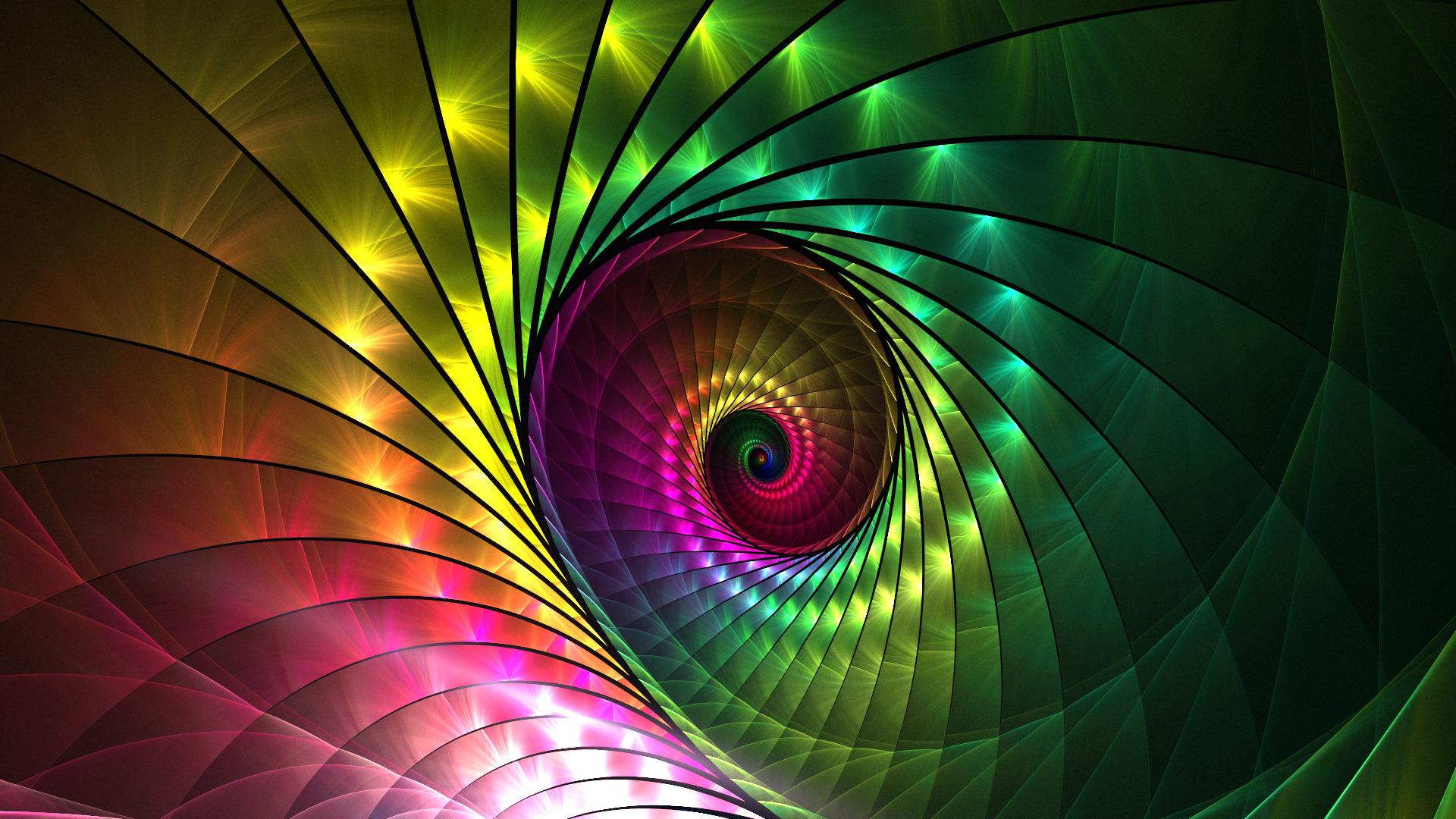 Avatar Wallpaper Hd 3d Abstract Spiral Fractal Wallpapers Hd Desktop And
