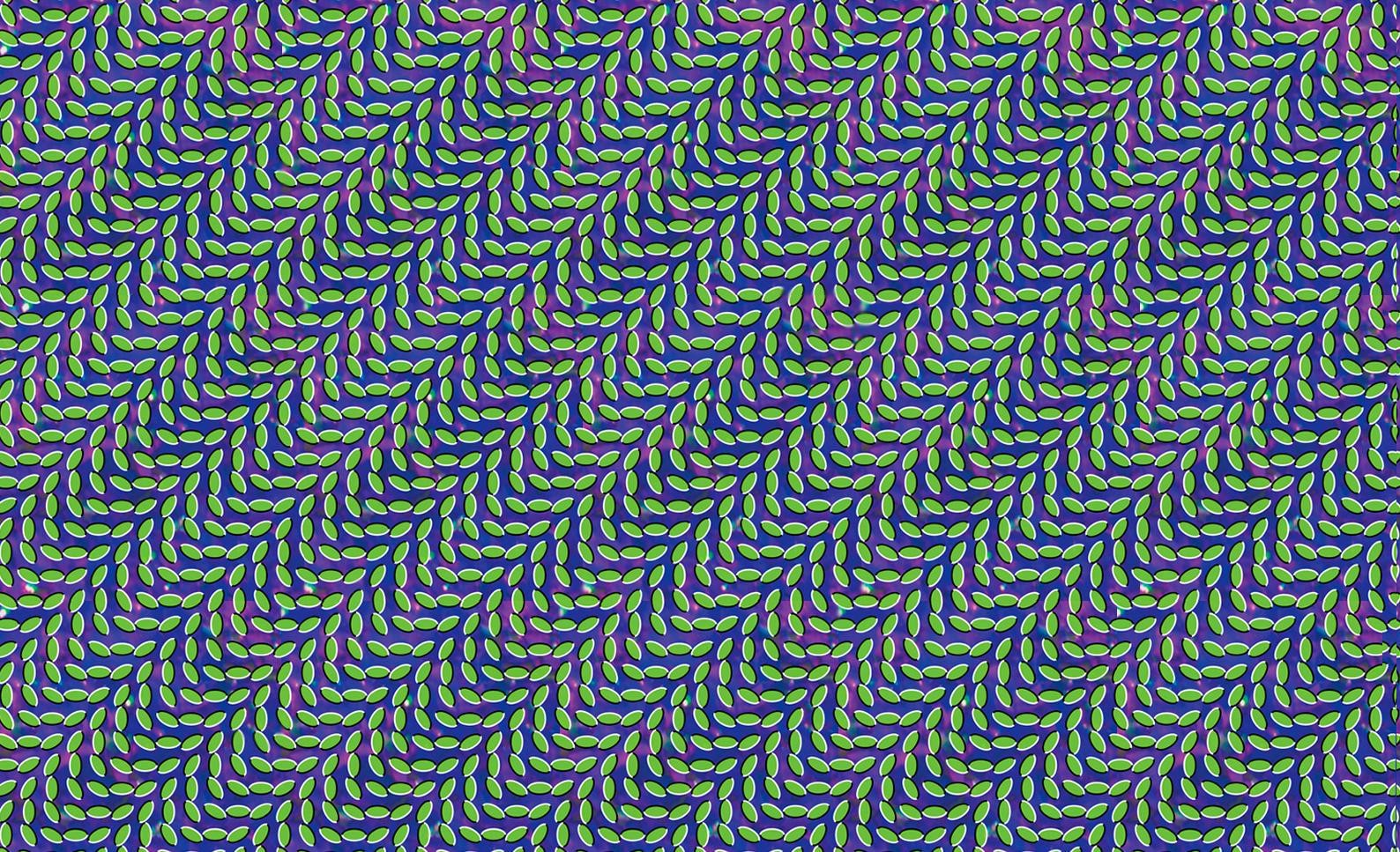 3d Illusion Wallpapers Hd Optical Illusion Pattern Abstract Leaves Animal