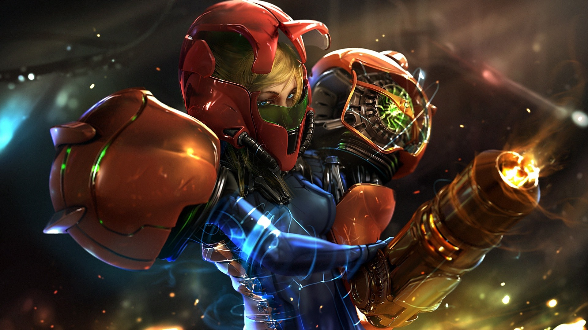 Natsu 3d Wallpapers Video Games Metroid Samus Aran Wallpapers Hd Desktop