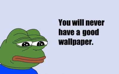sad, Quote, Memes, Pepe (meme) Wallpapers HD / Desktop and Mobile Backgrounds