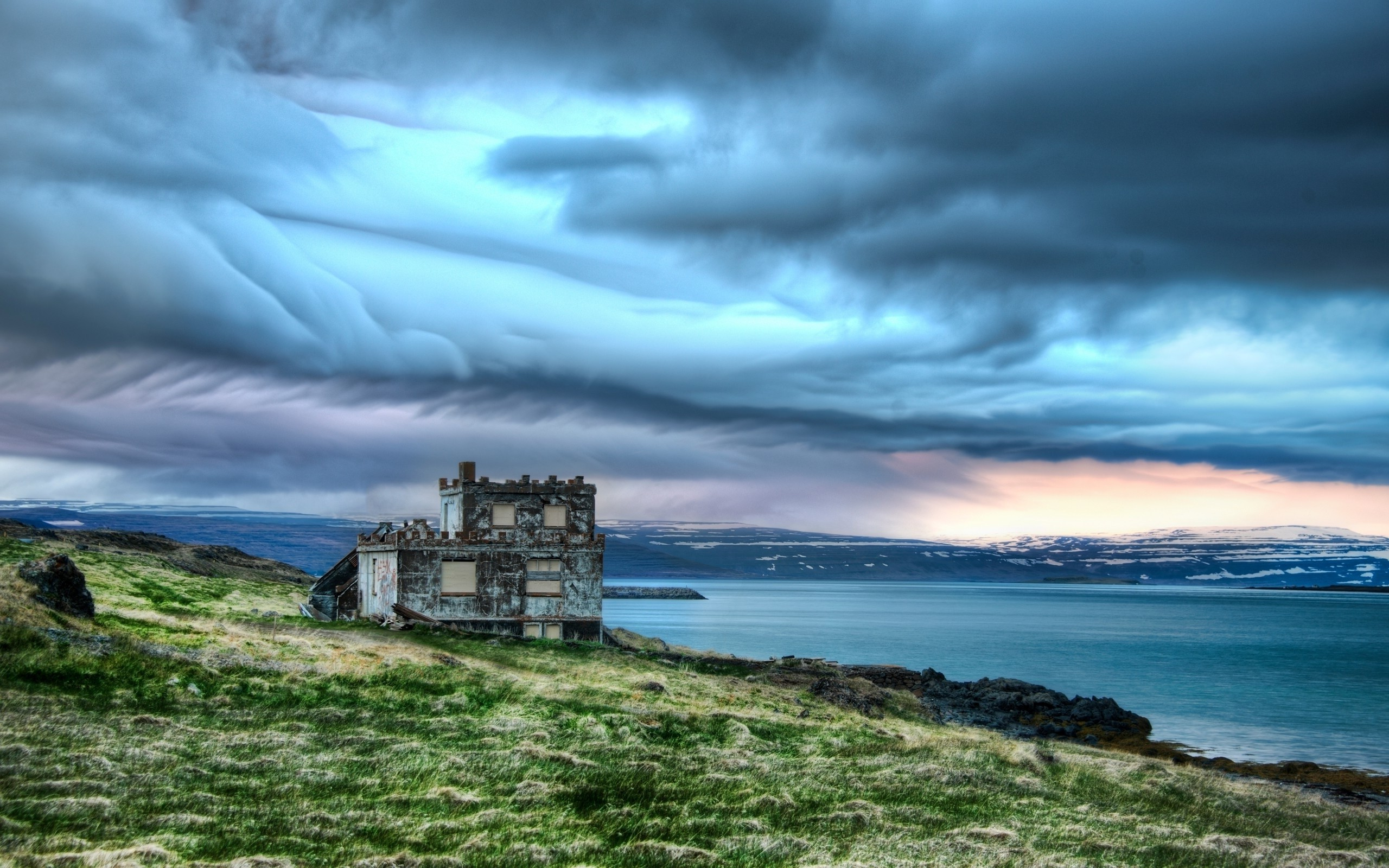 4k Wallpaper 3d National Geographic Nature Castle Iceland Clouds Landscape Hdr Wallpapers