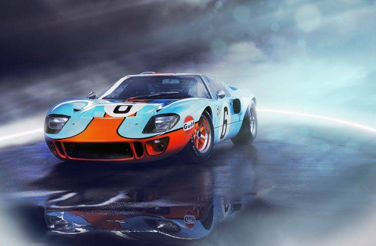 American Muscle Car Mobile Wallpaper Hd Ford Gt Vehicle Car Ford Ford Gt40 Wallpapers Hd