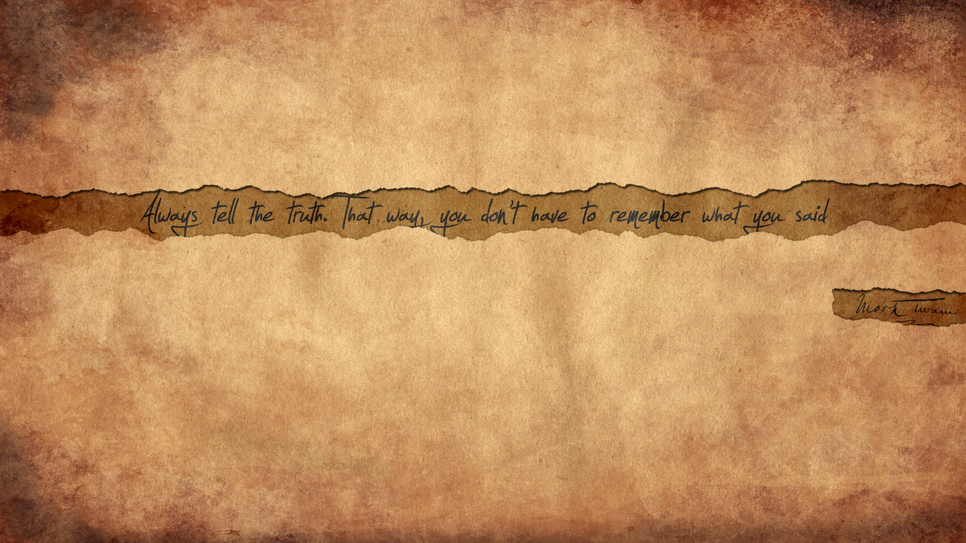 Falling In Love Quotes Wallpapers Quote Mark Twain Truth Wallpapers Hd Desktop And