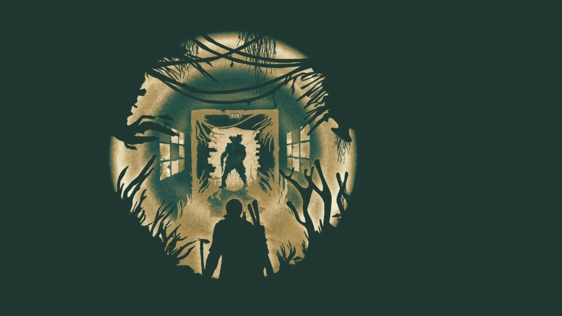 Hd Gamer Wallpaper The Last Of Us Minimalism Video Games Wallpapers Hd