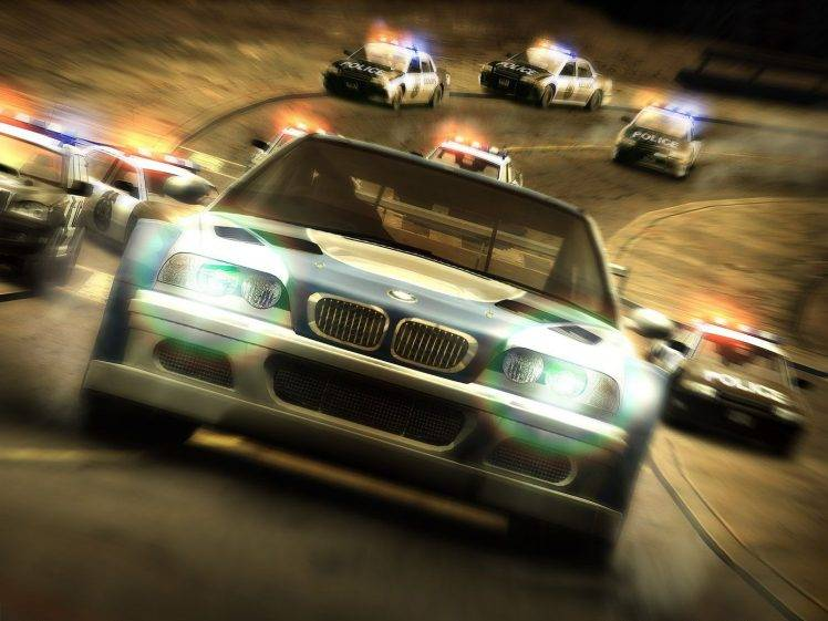 Car Chase Wallpaper Hd Need For Speed Most Wanted Bmw Car Video Games Need
