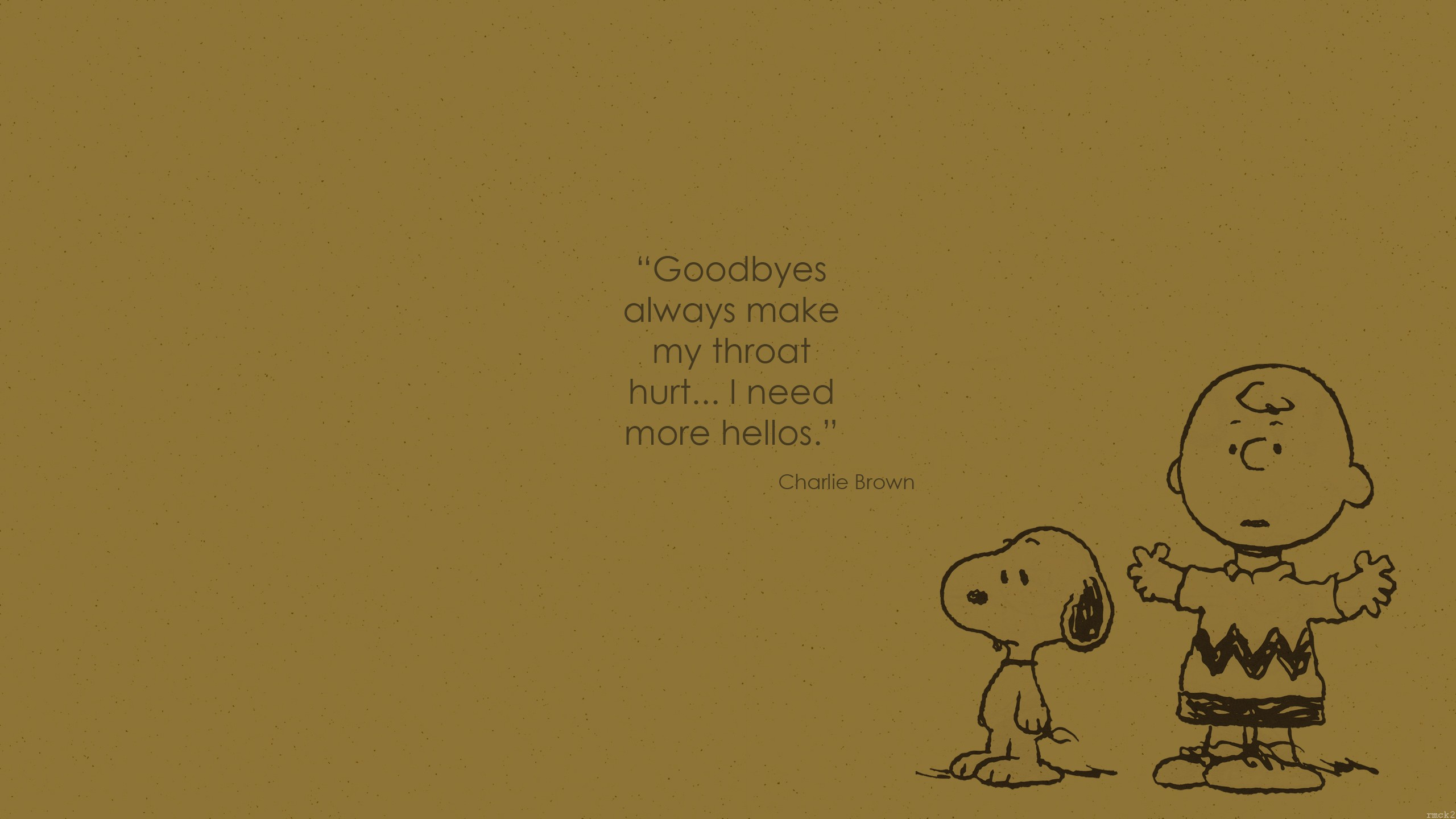 Minimalist Quote Wallpaper Snoopy Charlie Brown Quote Wallpapers Hd Desktop And