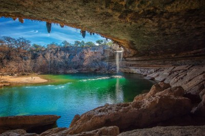 nature, Landscape, Cave, Waterfall, Lake Wallpapers HD / Desktop and Mobile Backgrounds