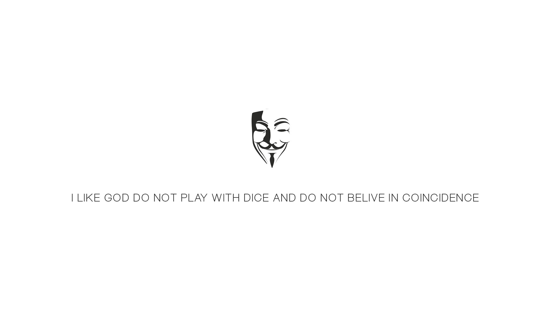 Anonymous Mask Wallpaper 3d Mask White Simple Quote V For Vendetta Wallpapers Hd