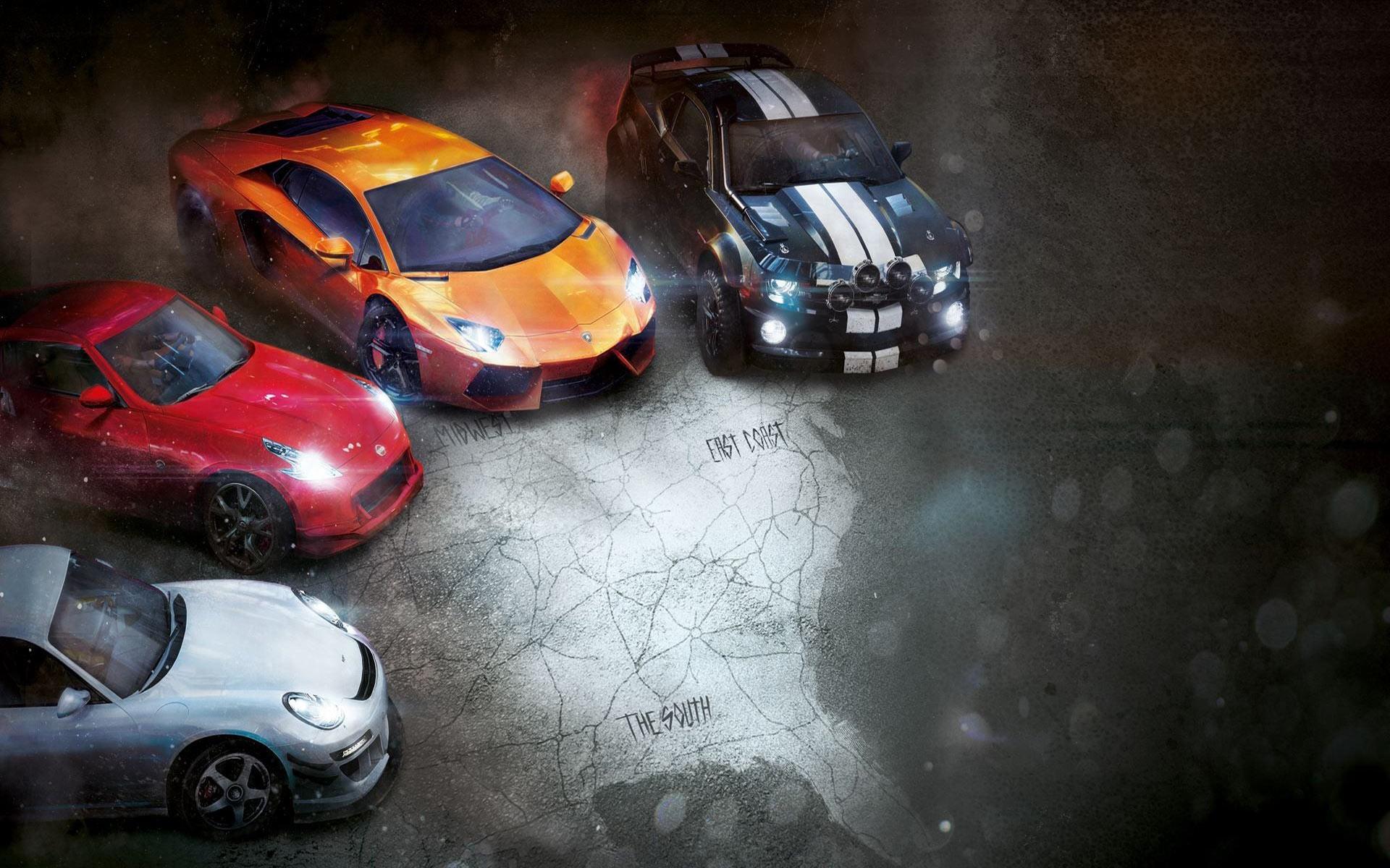 3d Animal Wallpapers Desktop Free Download Video Games Sports Car Car The Crew Lamborghini