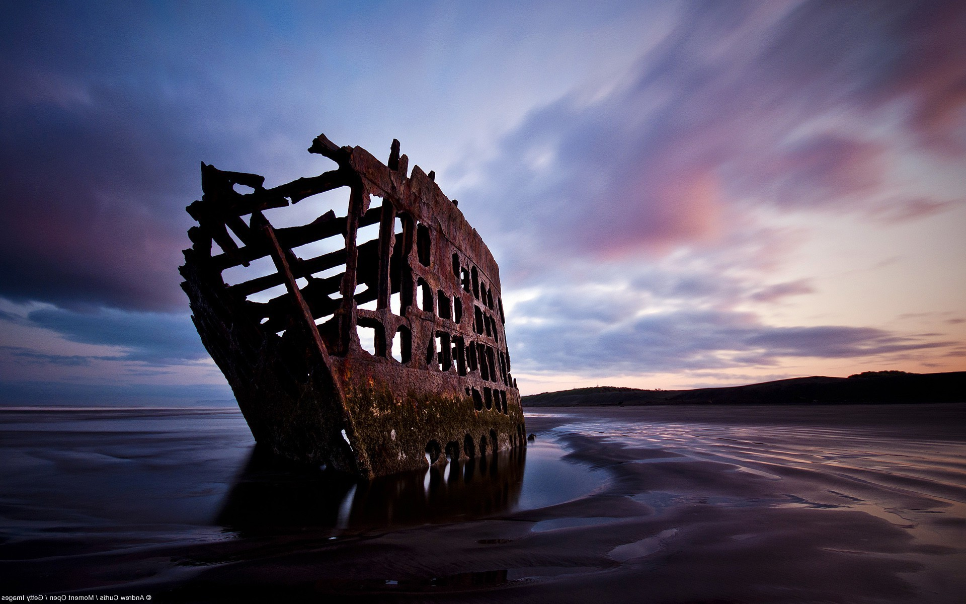 Cars The Movie Wallpapers Free Nature Landscape Wreck Shipwreck Oregon Beach
