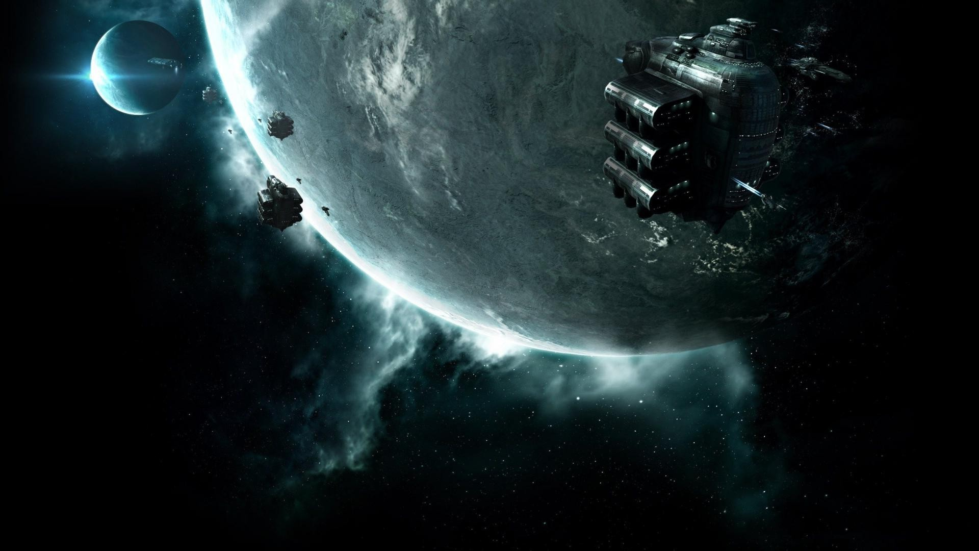 3d Love Wallpapers Download For Mobile Space Planet Galaxy Spaceship Science Fiction Eve
