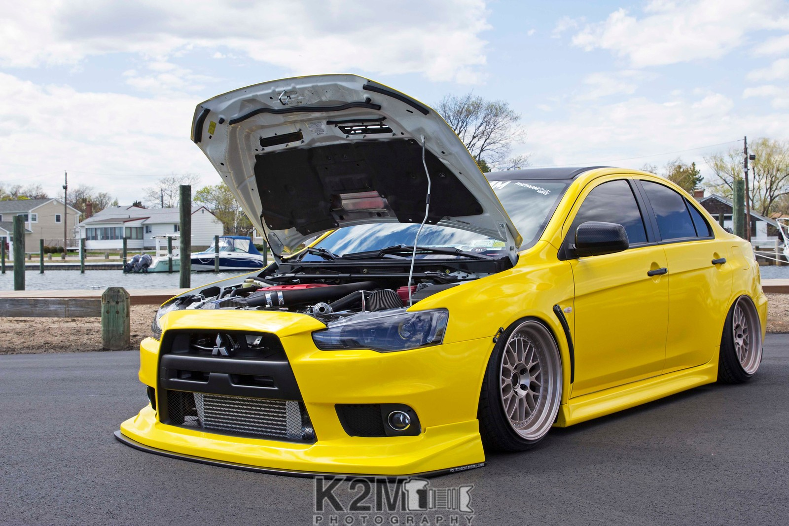 Evo 10 Wallpaper Tuning Car Yellow Cars Mitsubishi Lancer Evo X Wallpapers Hd