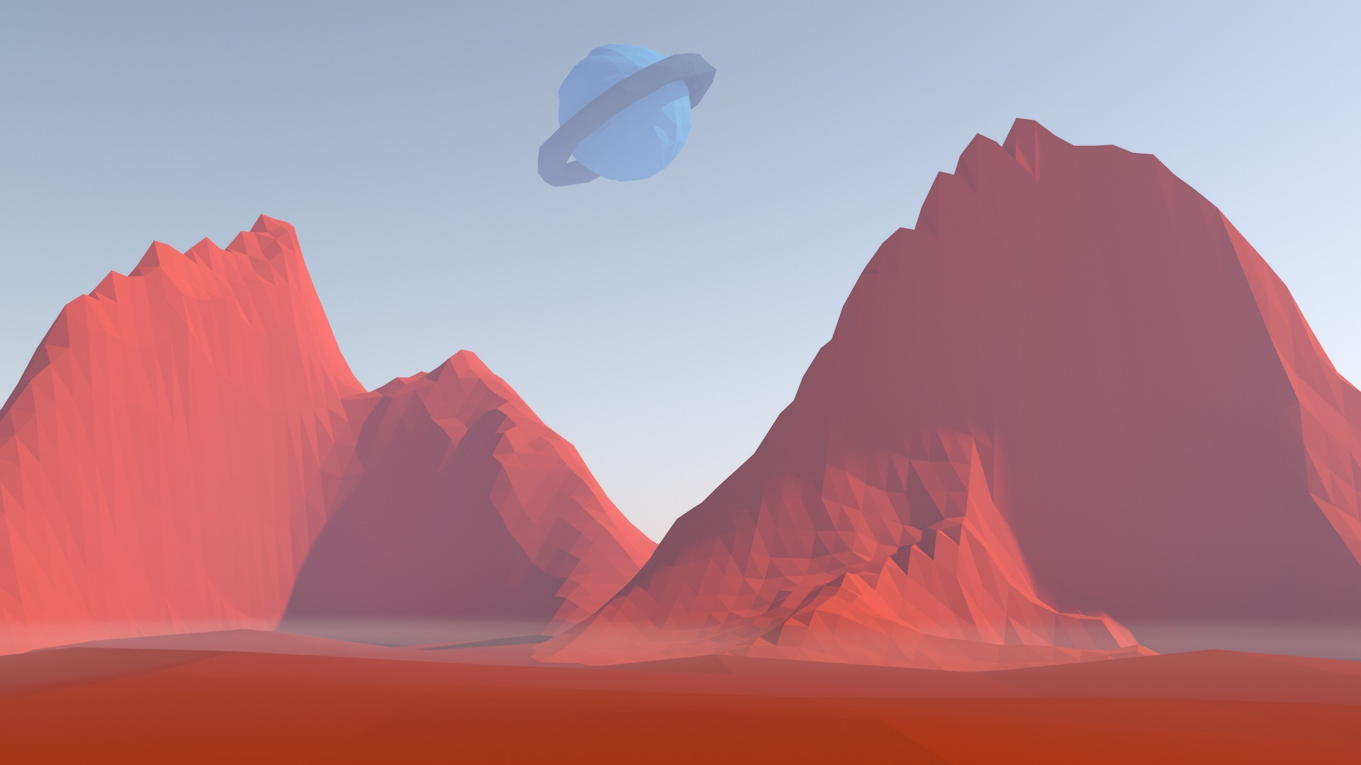 Animal Planet Wallpaper Hd Low Poly Mars Planet Space Wallpapers Hd Desktop And