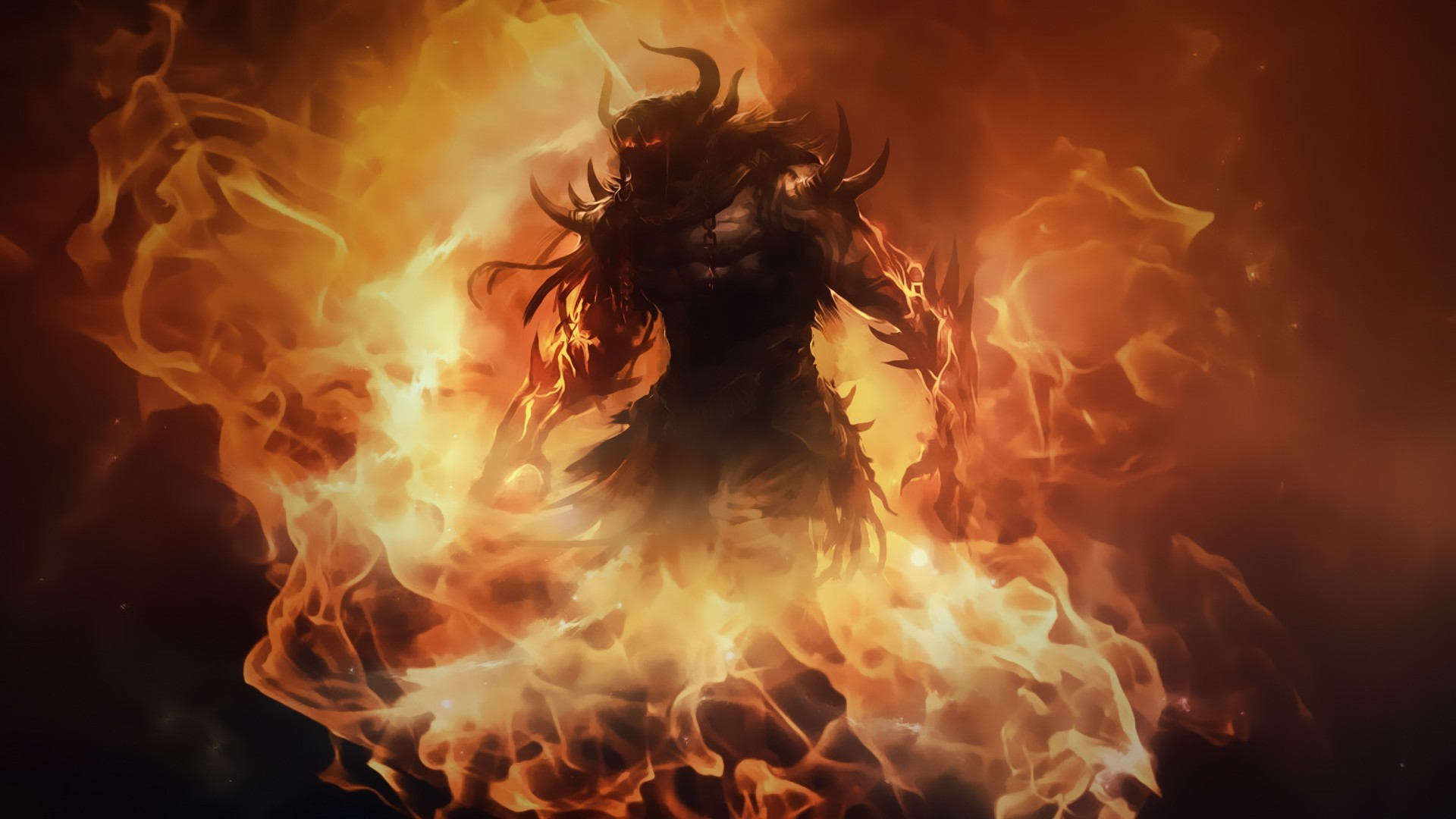 Guild Wars 2 Pc Gaming Video Games Fire Demon