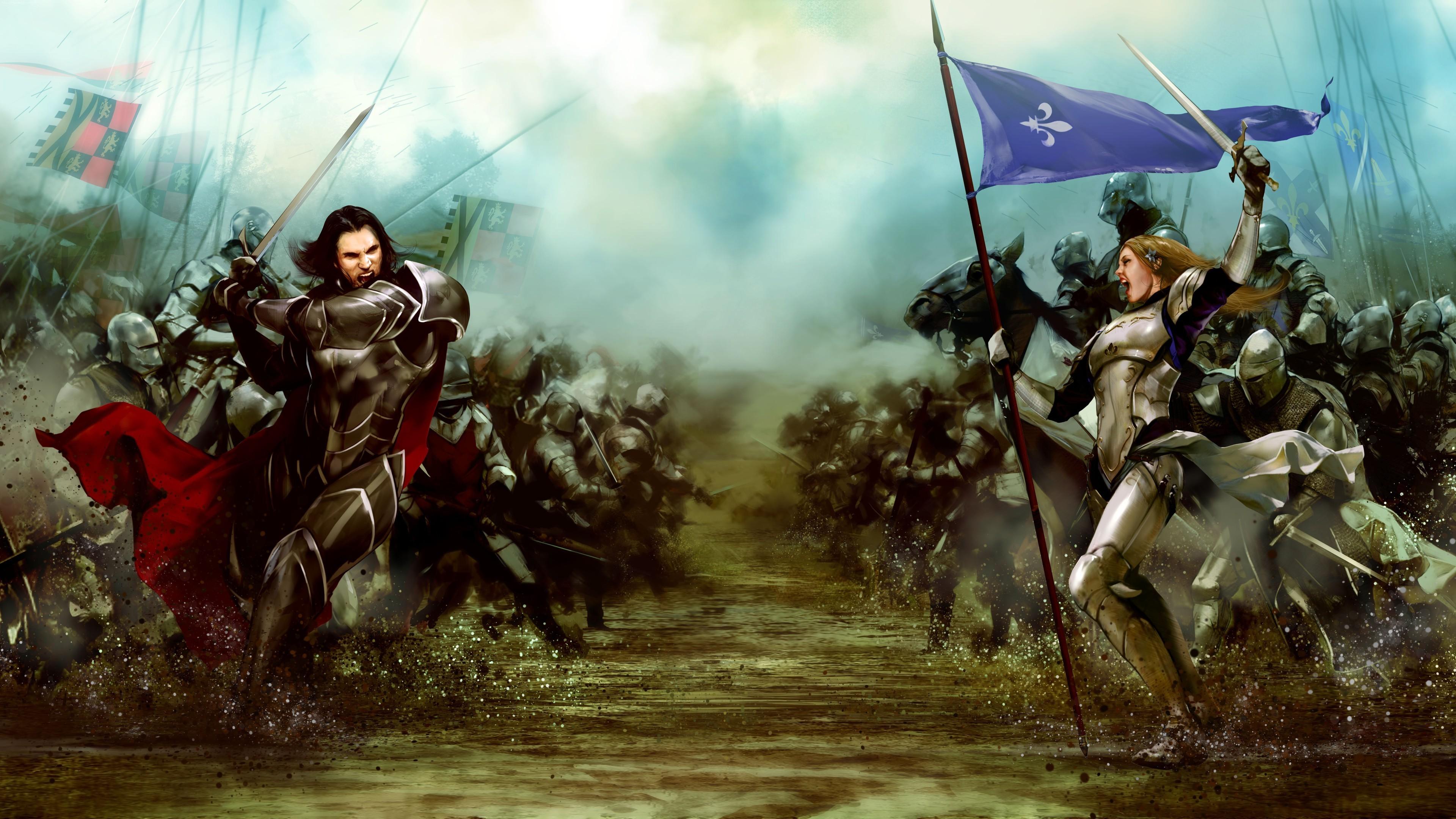 God Of War Wallpaper Hd 3d Download Bladestorm Nightmare War Video Games Knights Concept