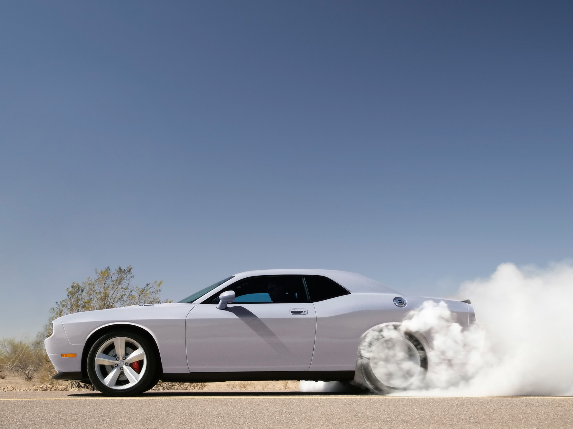 Muscle Cars Burnout Wallpapers Muscle Cars Car Burnout Dodge Challenger Smoke White