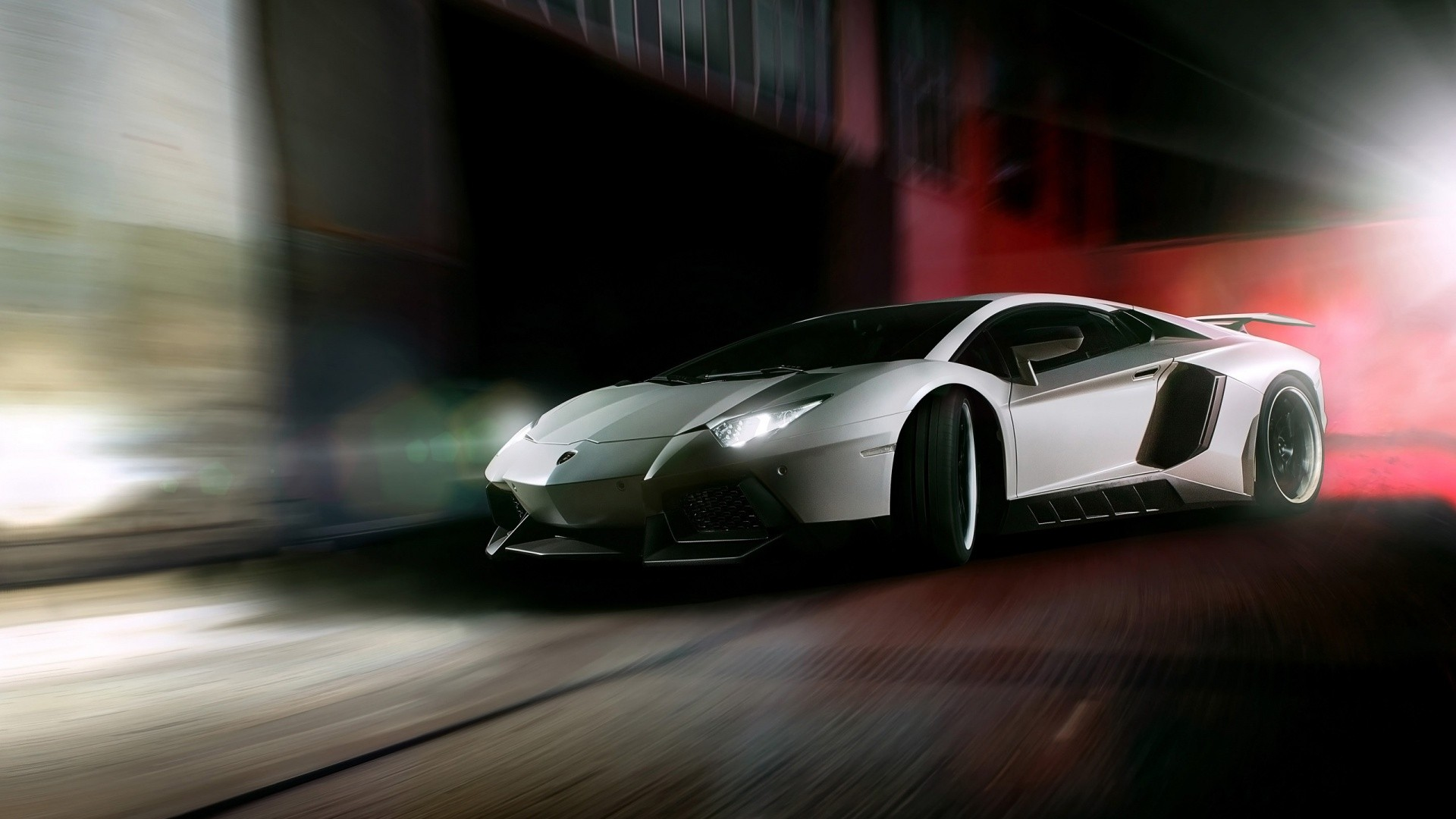 Super Car 5760x1080 Wallpaper Car Blurred Lamborghini Lamborghini Aventador
