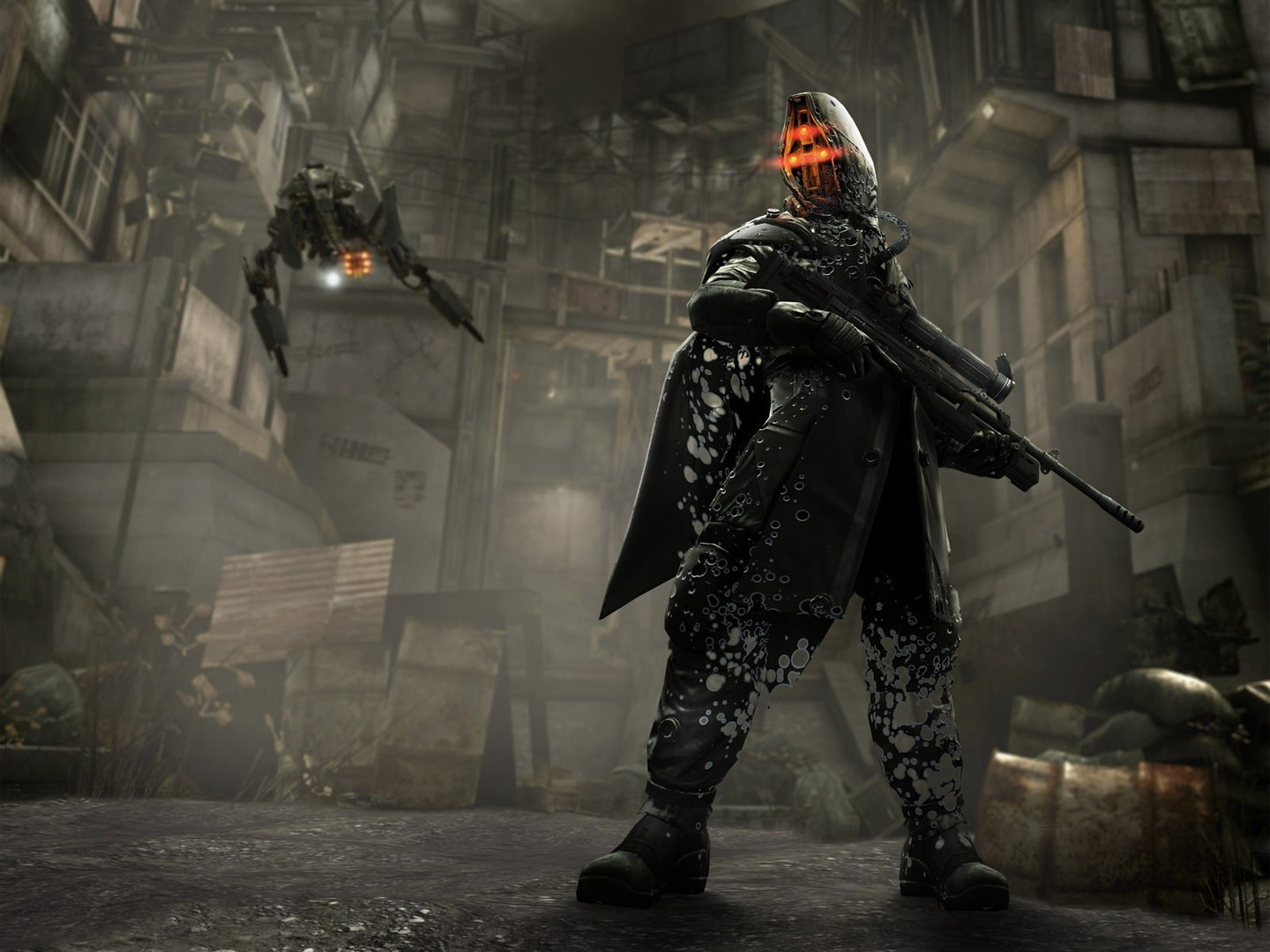3d Ghost Wallpaper Download Killzone 2 Video Games Wallpapers Hd Desktop And Mobile