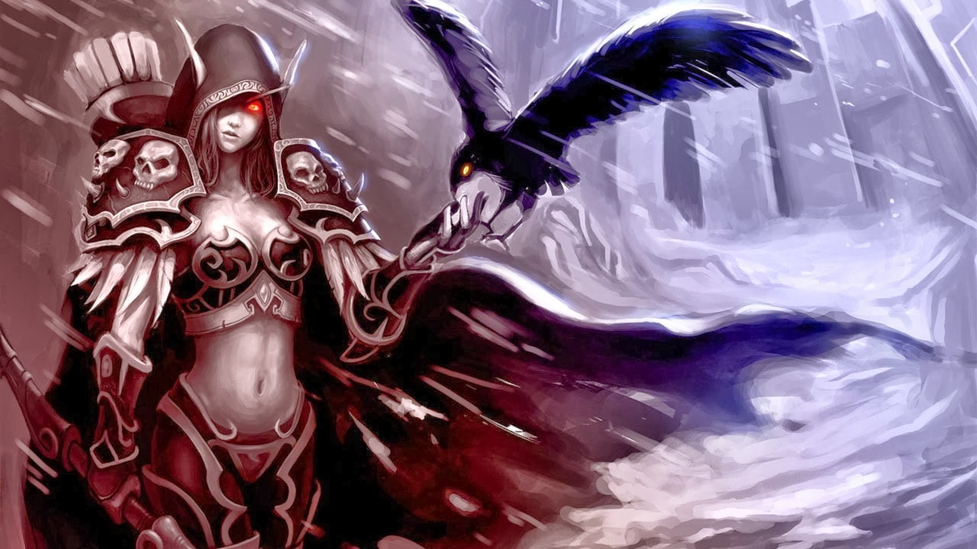 3d Vampire Female Wallpaper World Of Warcraft Wallpapers Hd Desktop And Mobile