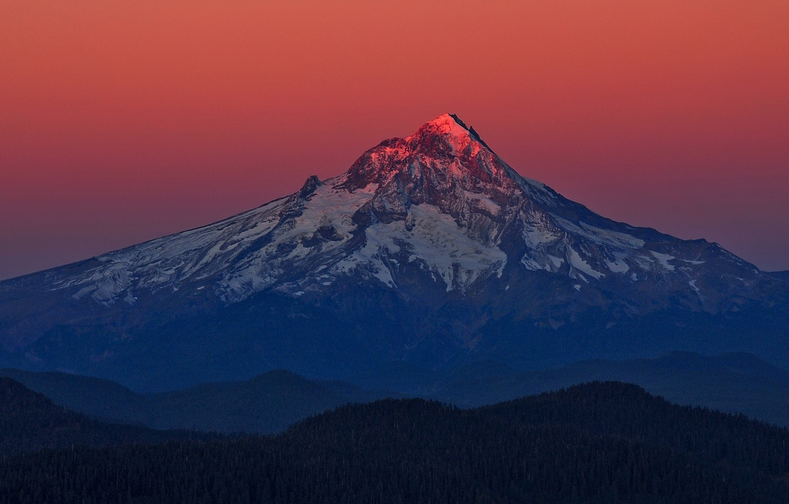 New Amazing Cars Wallpapers Nature Snowy Peak Volcano Mountain Oregon Forest