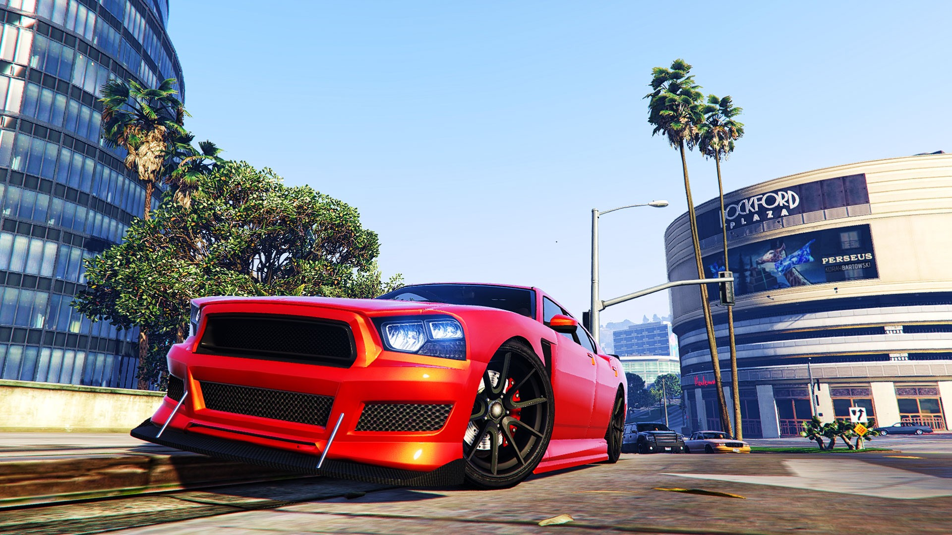 Car 5760x1080 Wallpaper Grand Theft Auto V Car Building Video Games Wallpapers