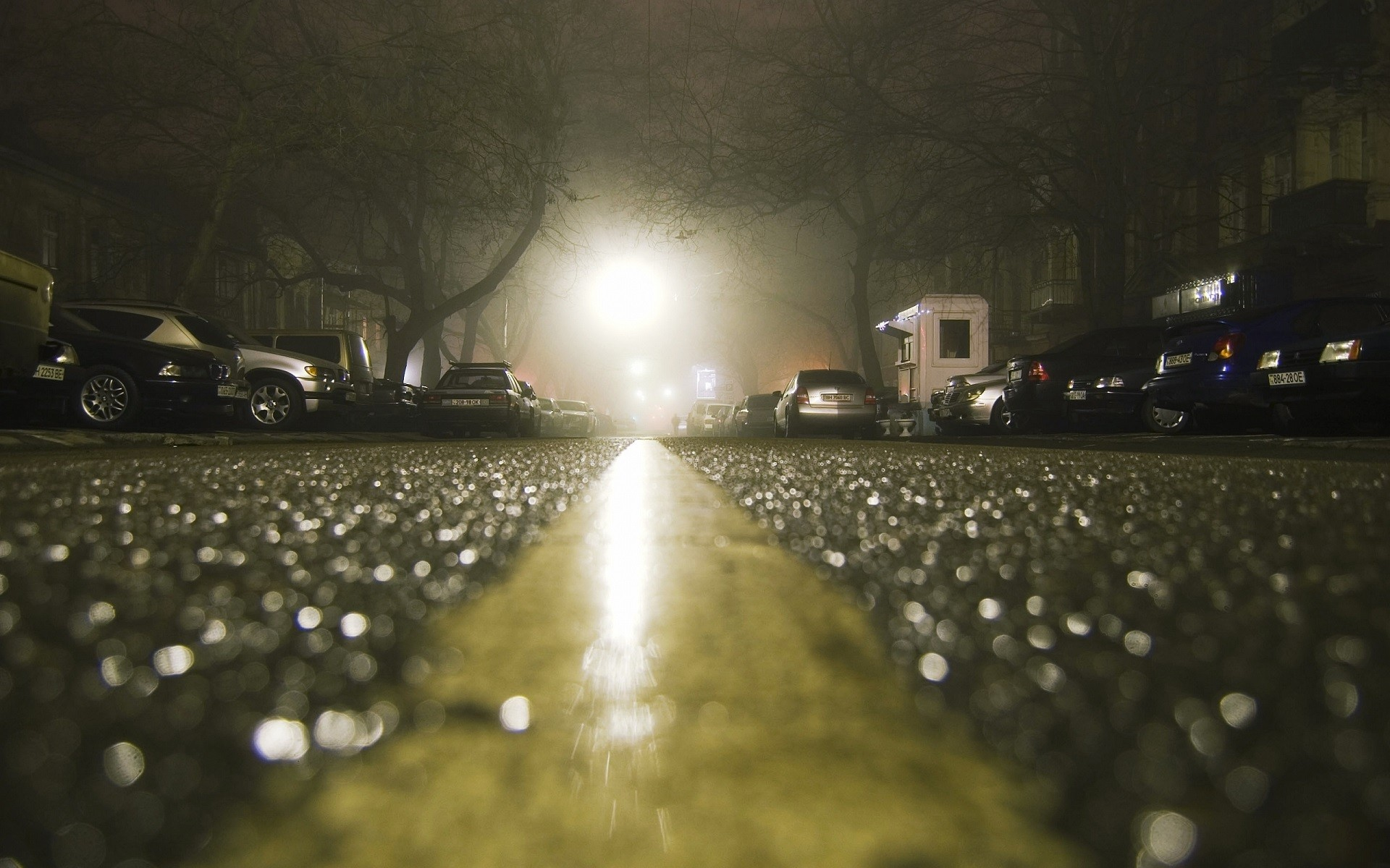 Car 5760x1080 Wallpaper City Road Rain Wet Depth Of Field Lights Car Night
