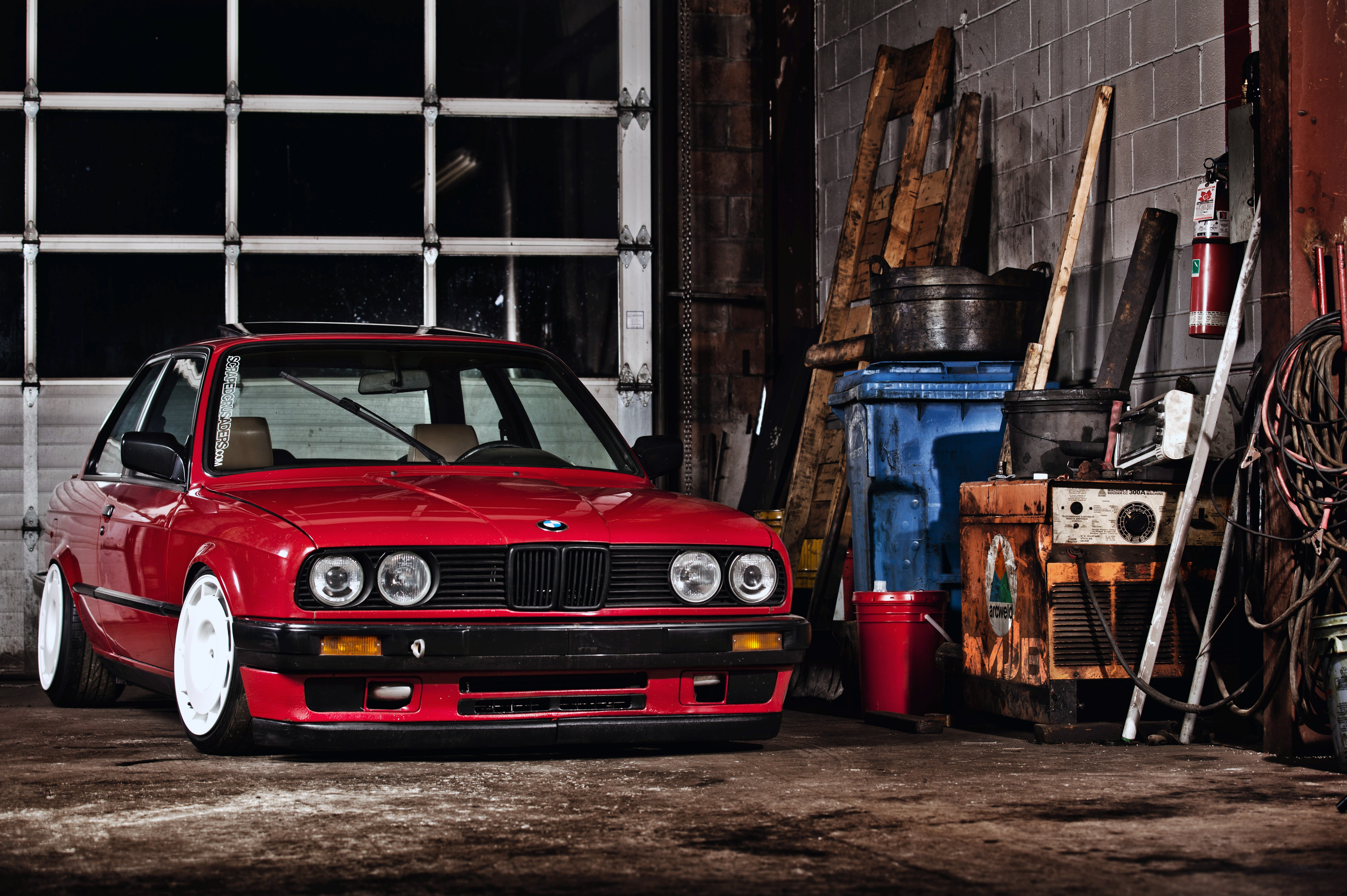 Car 5760x1080 Wallpaper Car Bmw Stance Red Cars Wallpapers Hd Desktop And