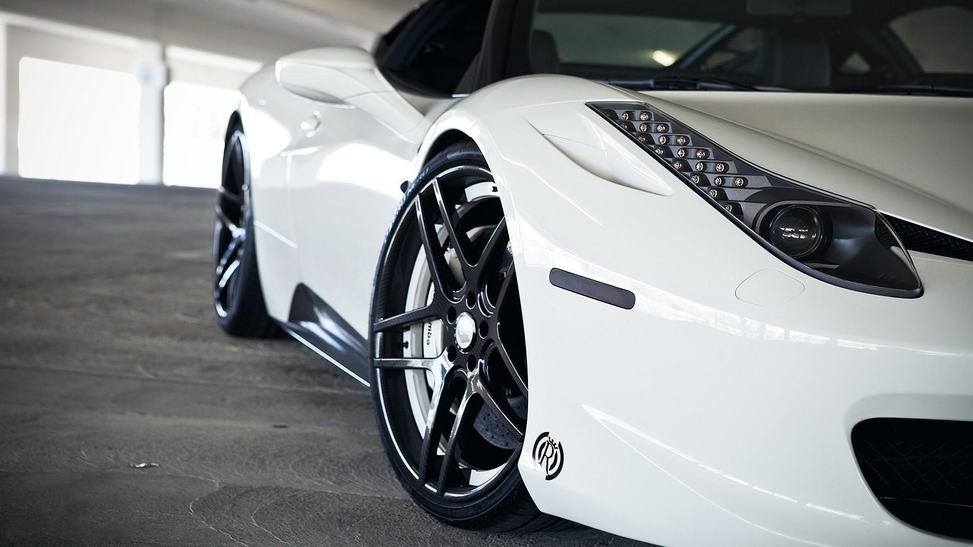 Ferrari 458 Italia Wallpaper Hd Car Ferrari 458 Italia White Cars Wallpapers Hd