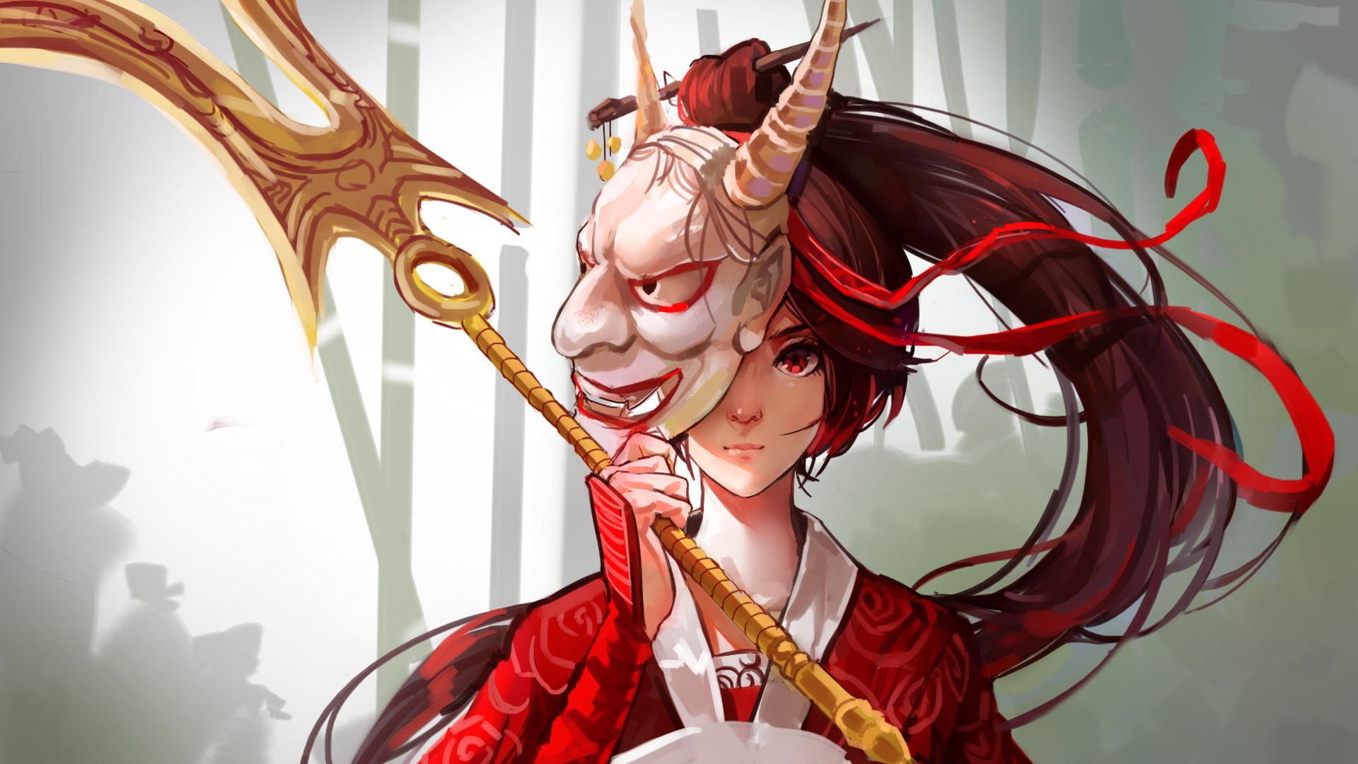 Uhd Wallpapers Girl Women Pc Gaming League Of Legends Akali Anime Girls