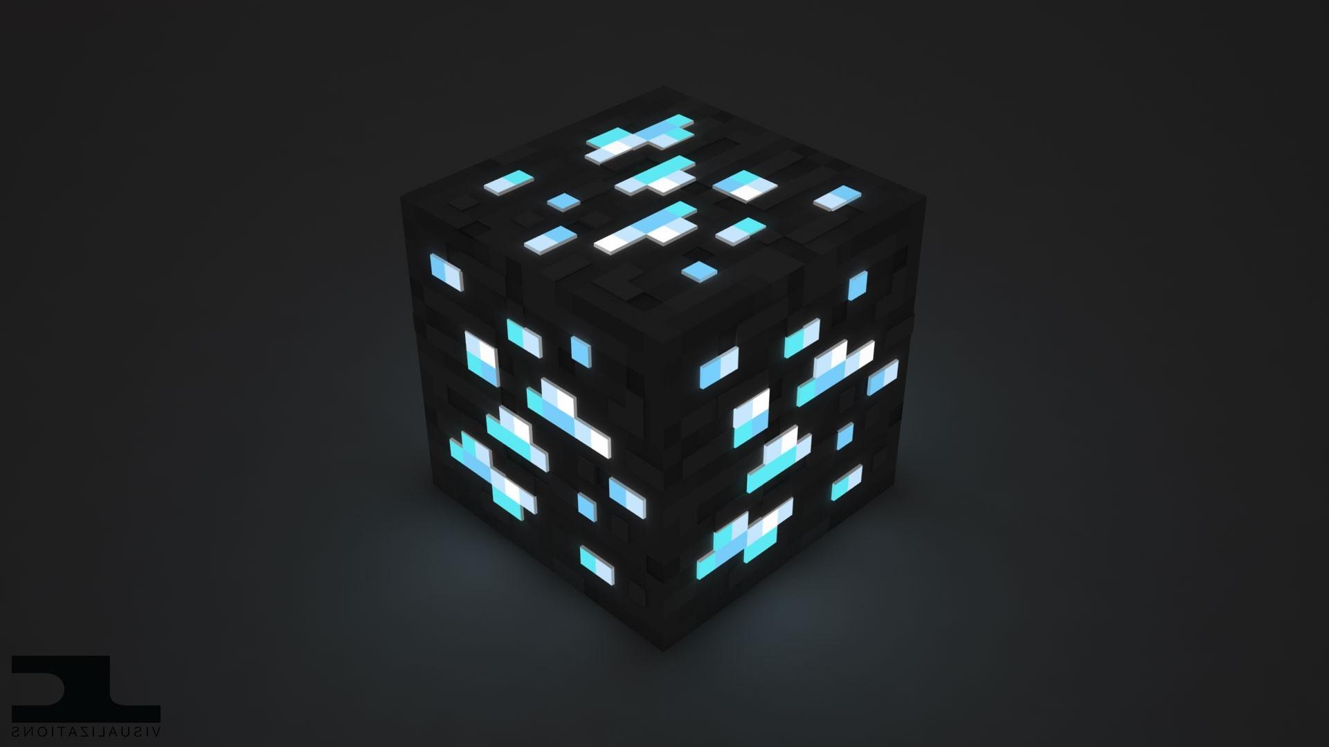 Wallpaper Minecraft 3d Minecraft Cube Video Games Wallpapers Hd Desktop And