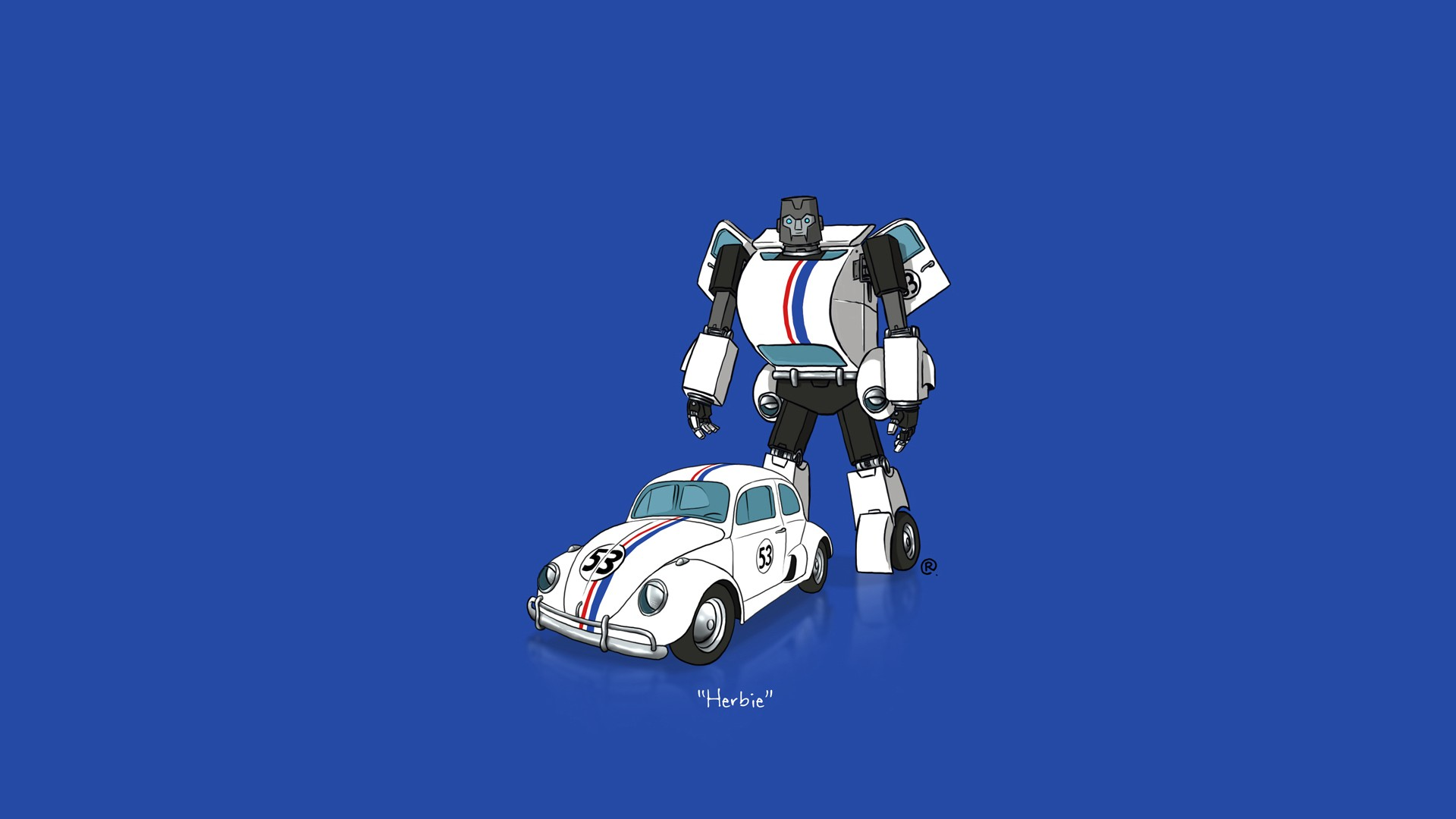 Vintage Car Hd Wallpapers For Pc Car Transformers Minimalism Herbie Wallpapers Hd