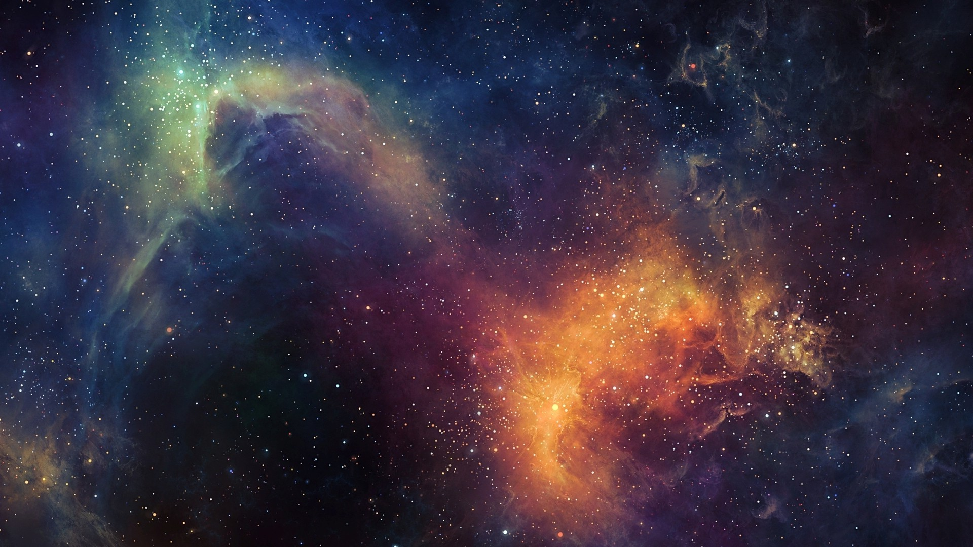 Thunderstorm Wallpaper 3d Space Nebula Colorful Tylercreatesworlds Wallpapers Hd