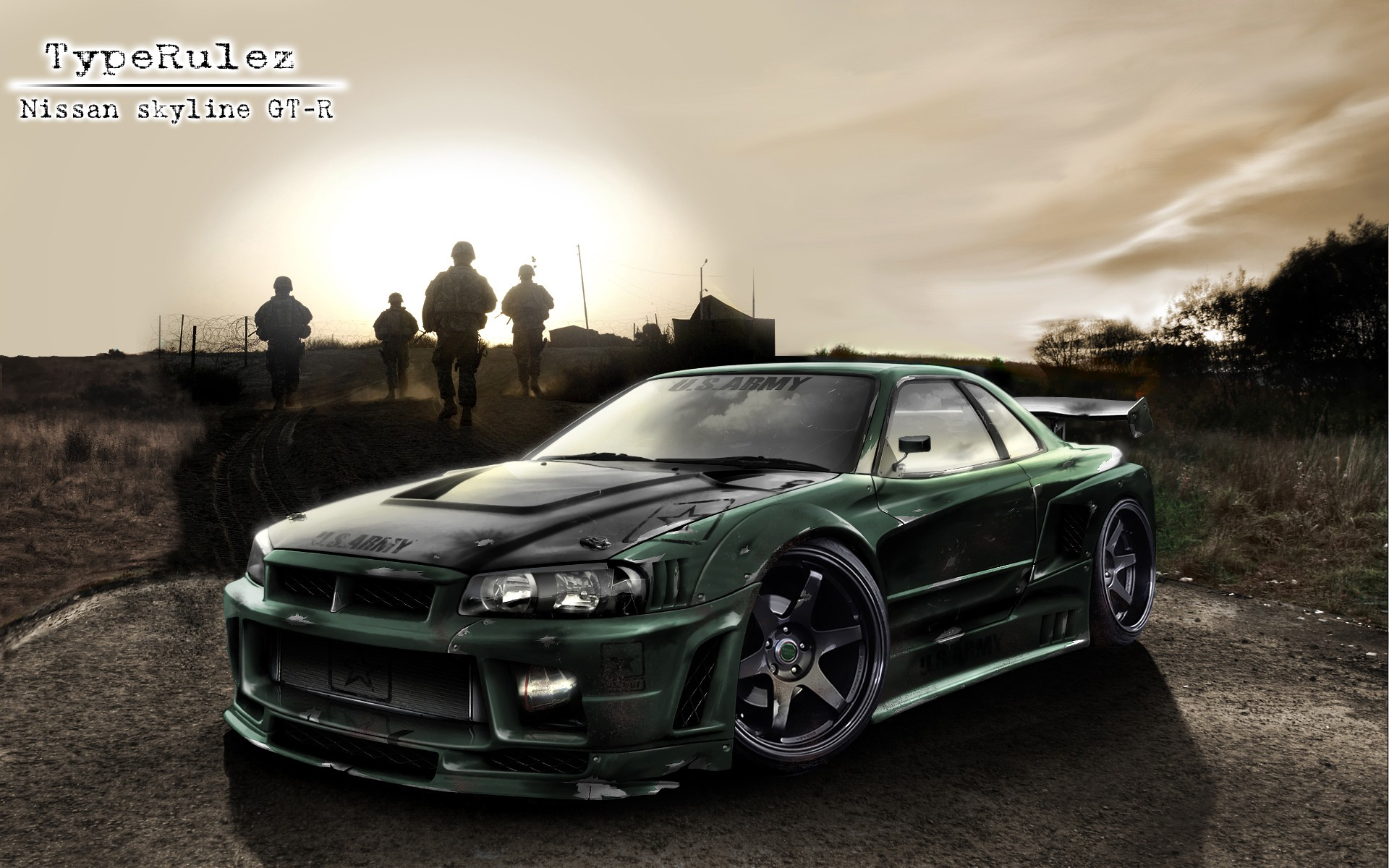 R34 Wallpaper Hd Race Cars Nissan Skyline Gt R R34 Shark Sea Weapon