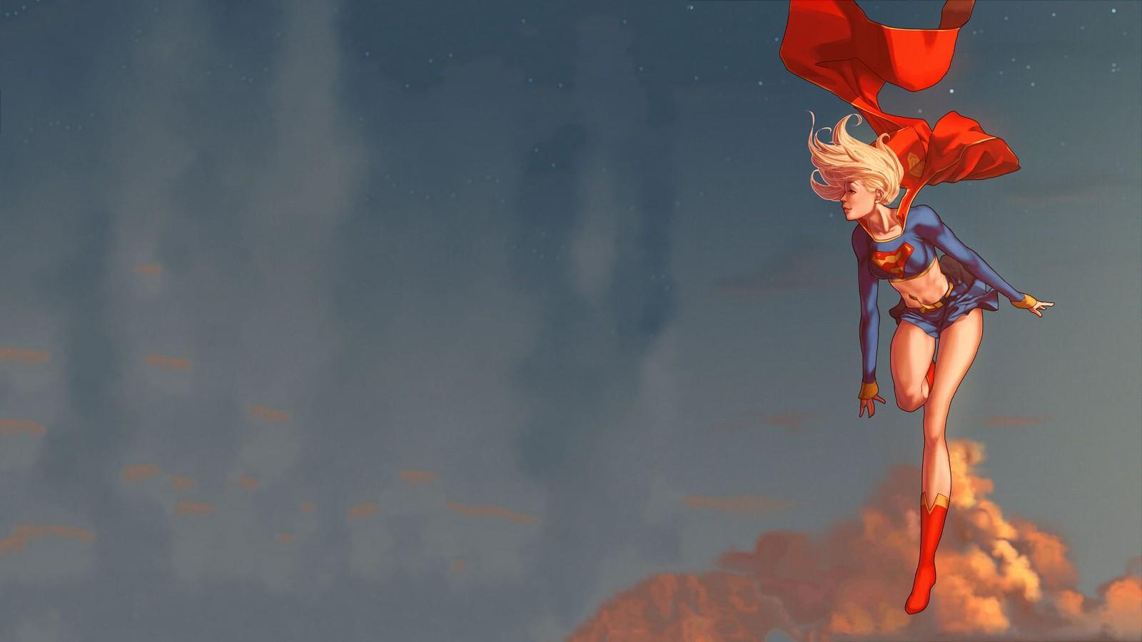 3d Superwoman Wallpaper Supergirl Superman Dc Comics Superhero Wallpapers Hd