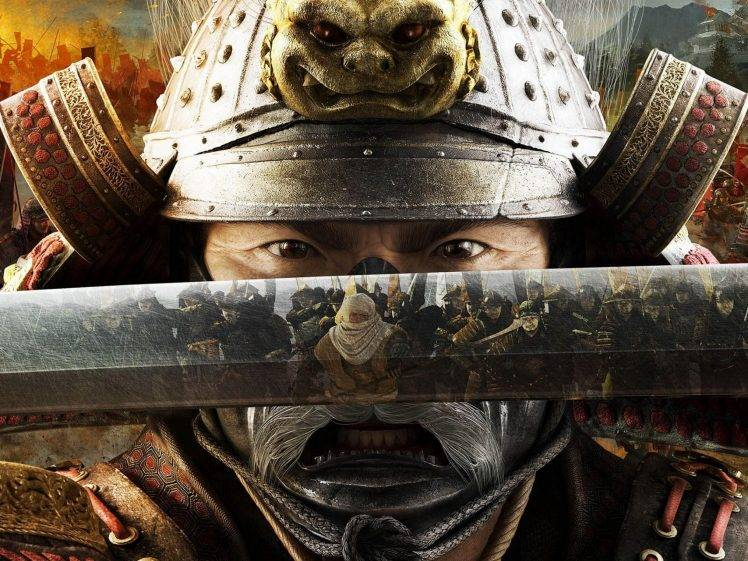 Shogun 2 Fall Of The Samurai Wallpaper Warrior Samurai Total War Shogun 2 Video Games Sword