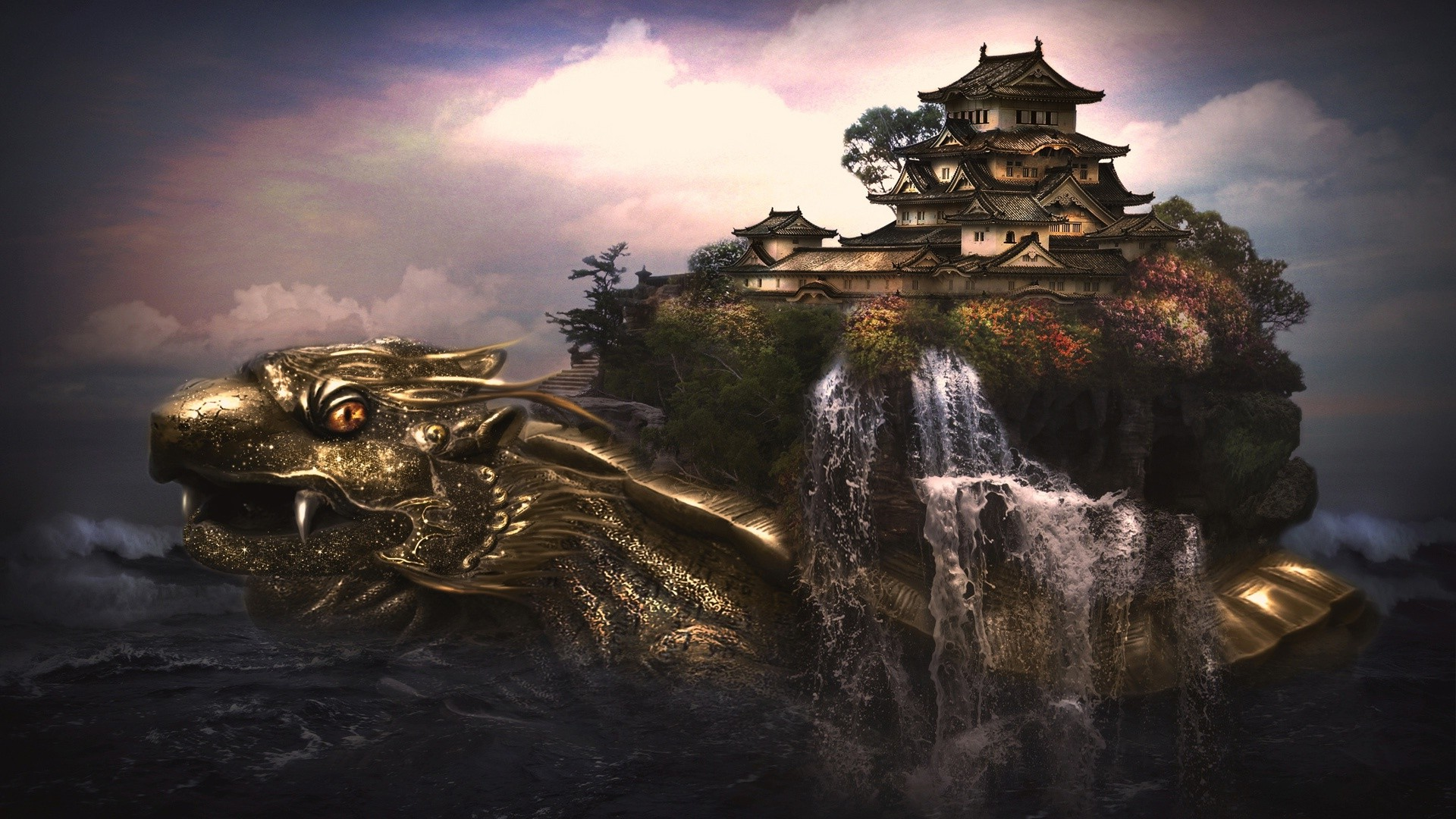 Cool Cars Wallpaper For Mobile Dragon Digital Art Fantasy Art Turtle Wallpapers Hd